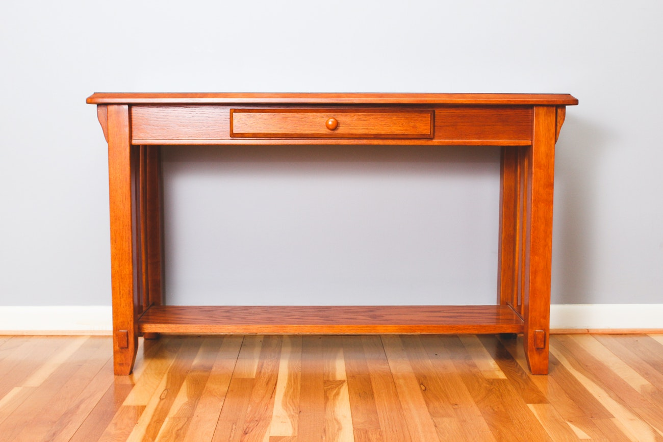 Mission-Style Sofa Table