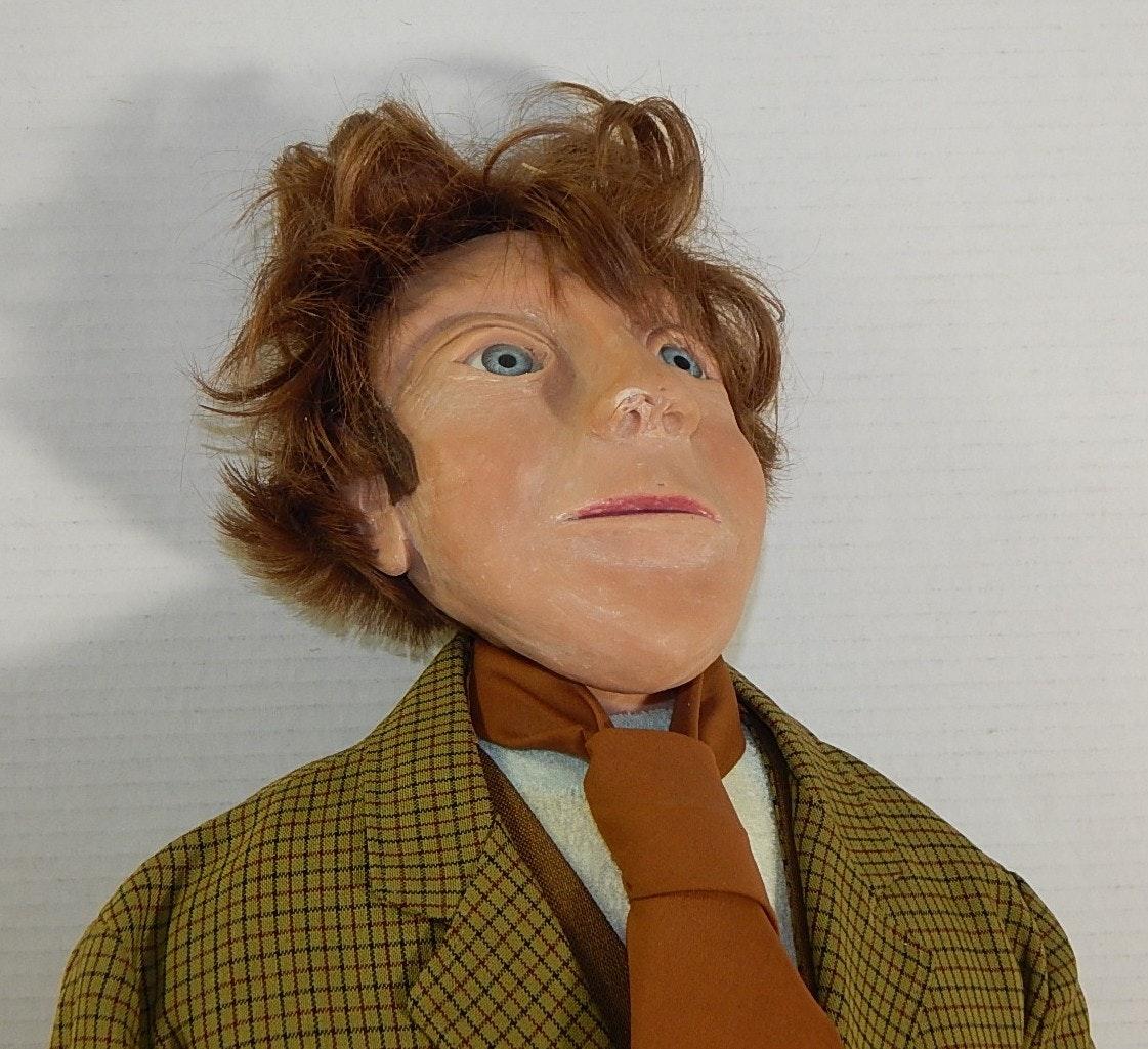 Odd Fellow Dressed Wax Doll