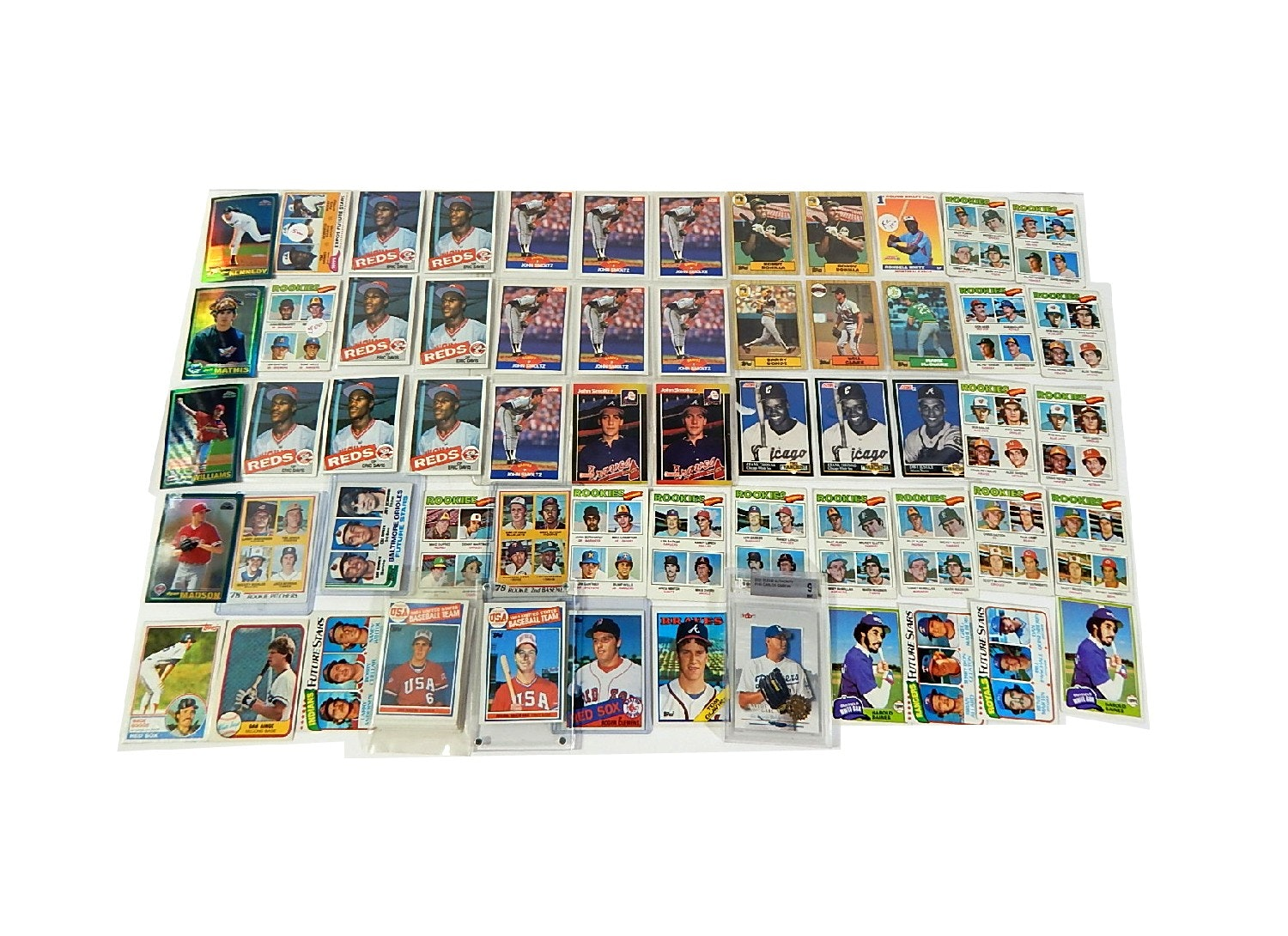 Star Rookie Cards from 1970s and 1980s
