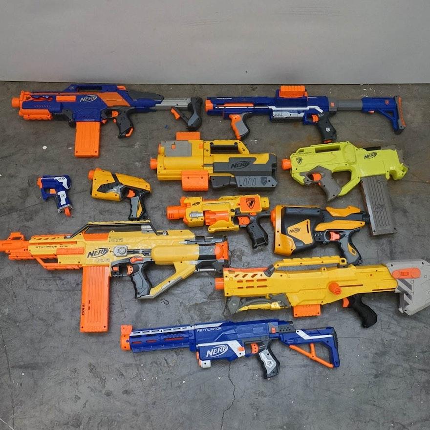 Nerf Guns ...