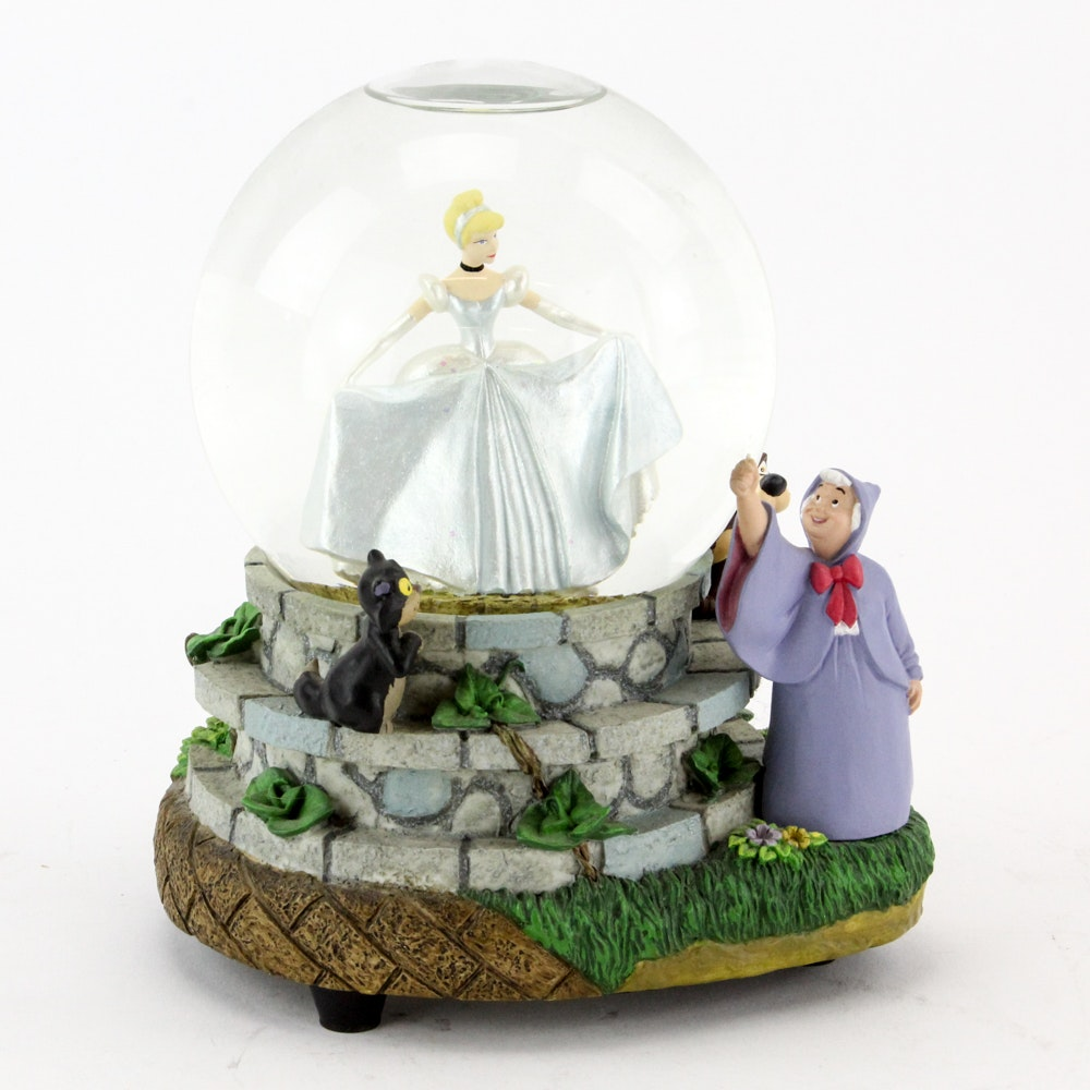 Disney's Cinderella Musical Snowglobe