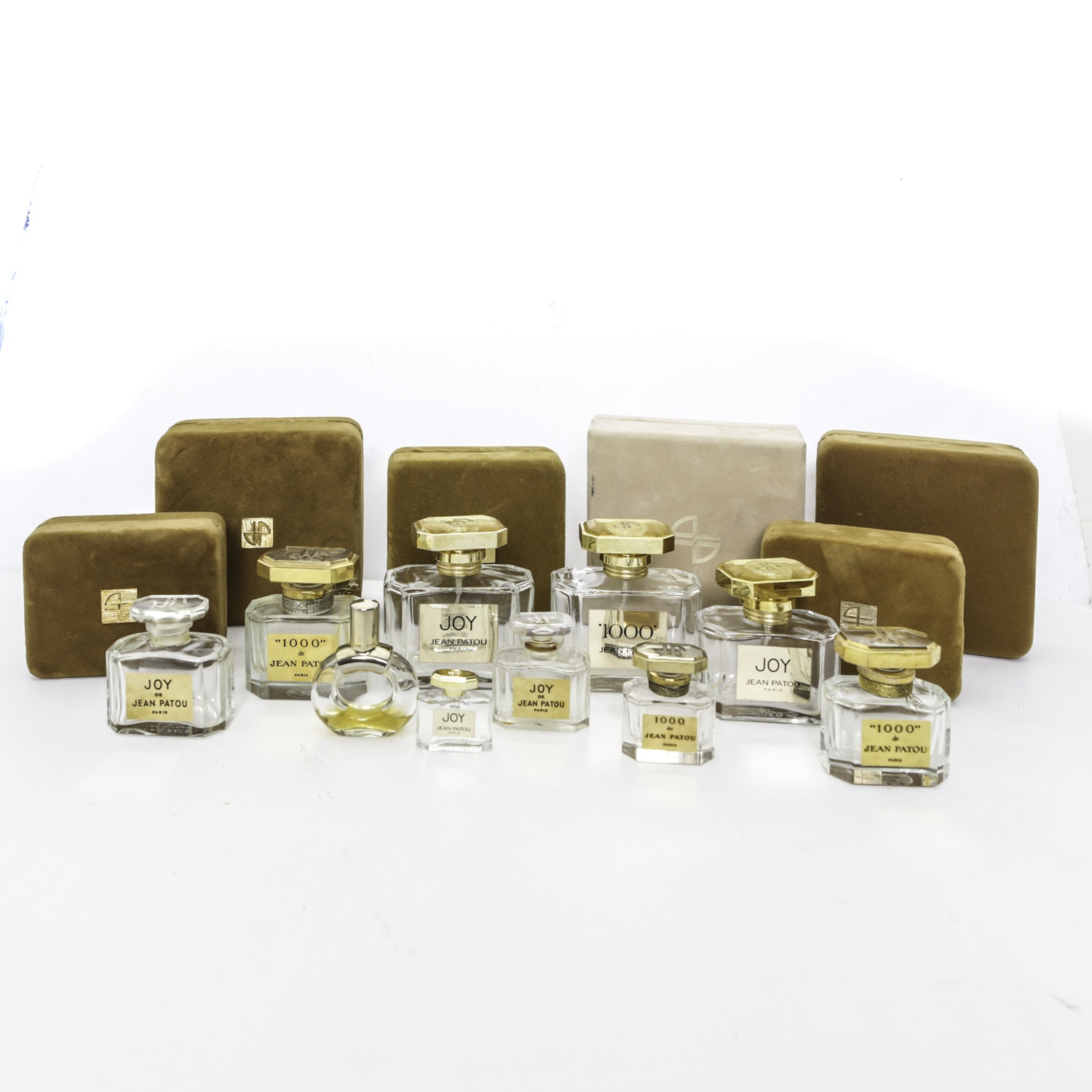 Jean Patou and Hermes Perfume Bottles