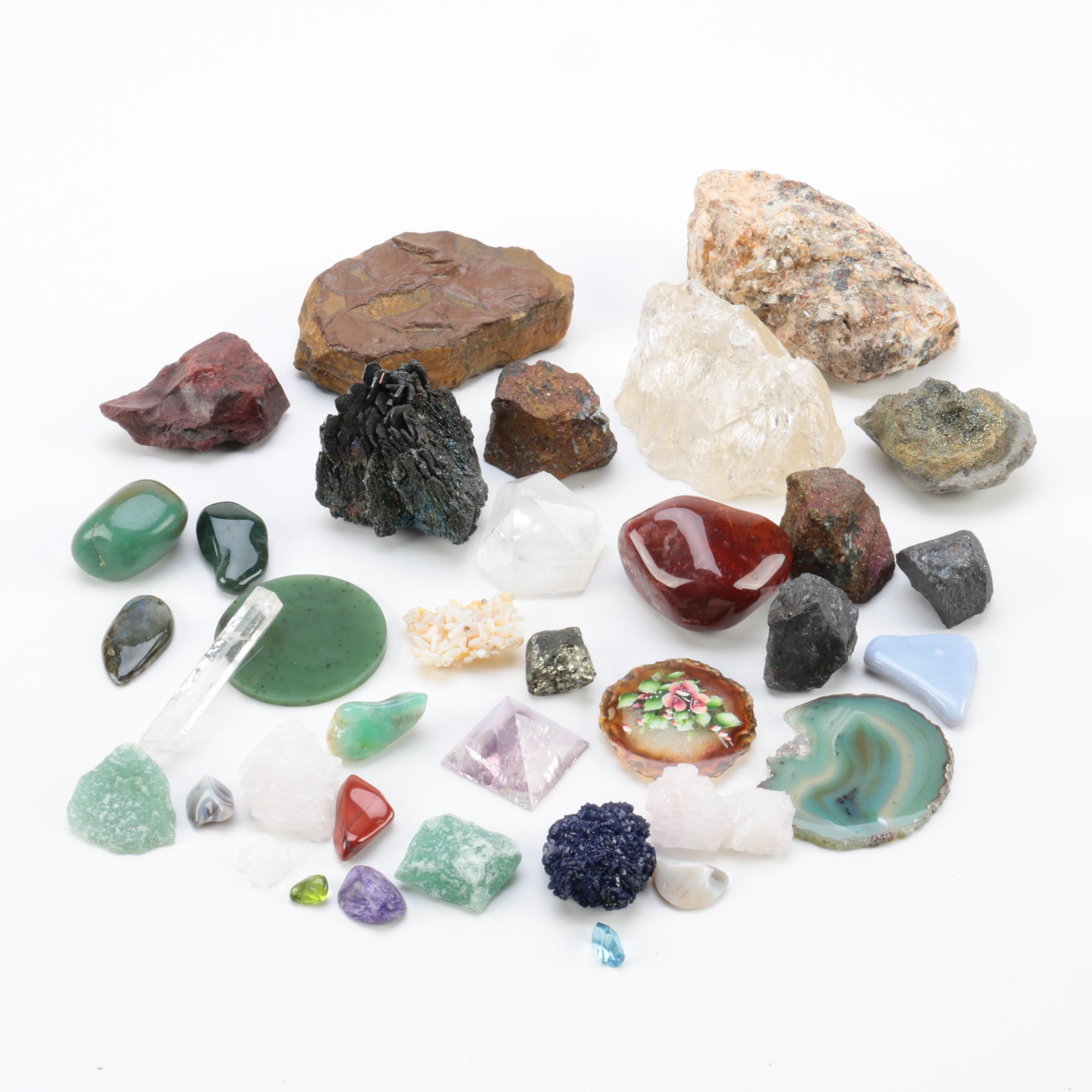 Rock and Mineral Specimens
