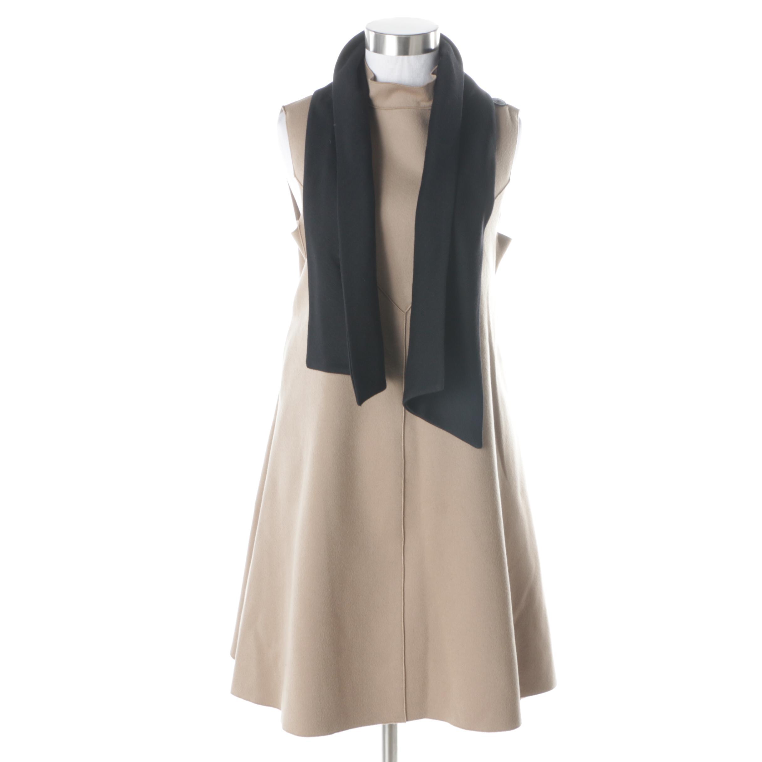 Derek Lam Cashmere Trapeze Dress
