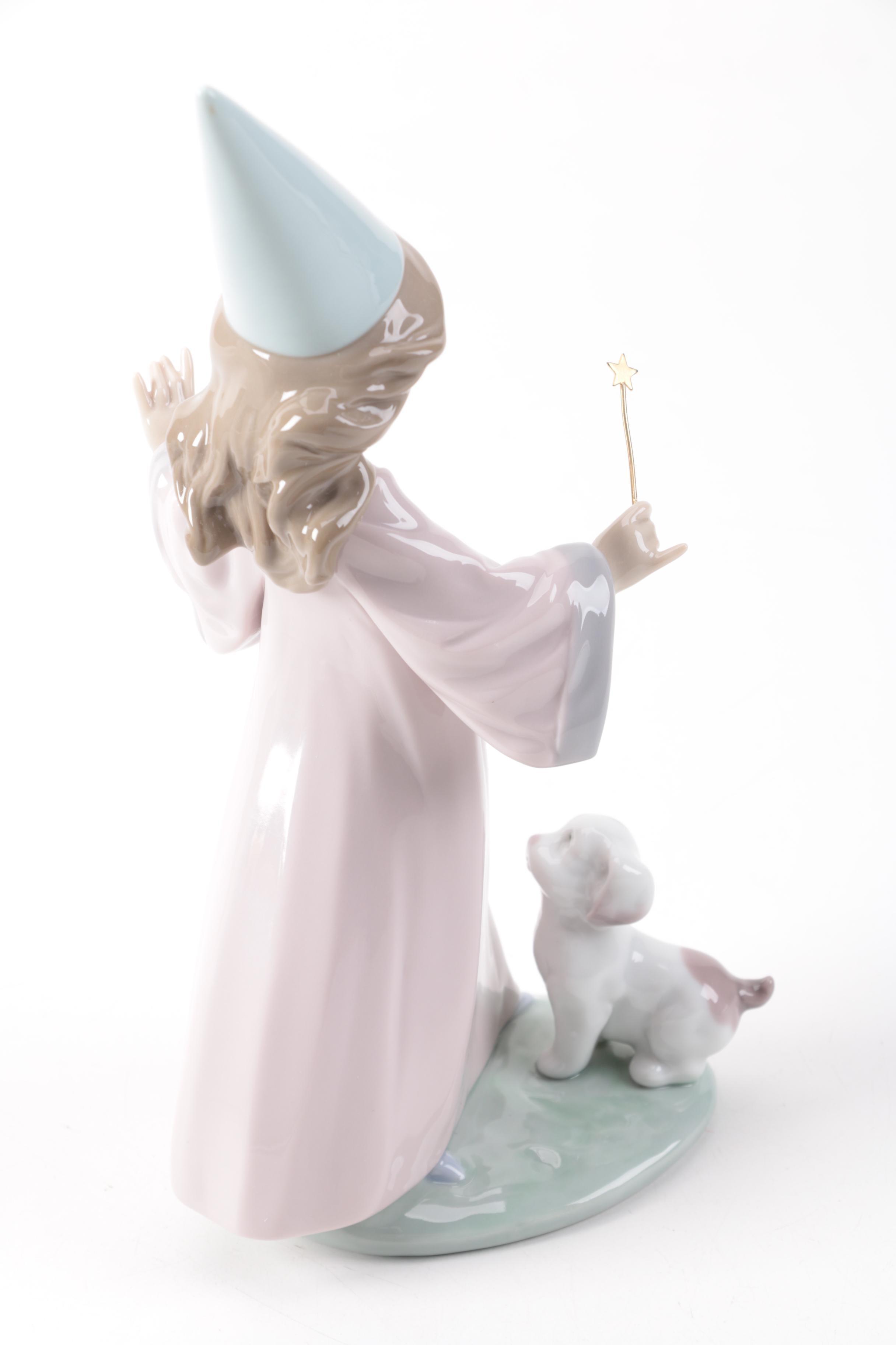 lladró quot under my spell quot porcelain figurine ebth