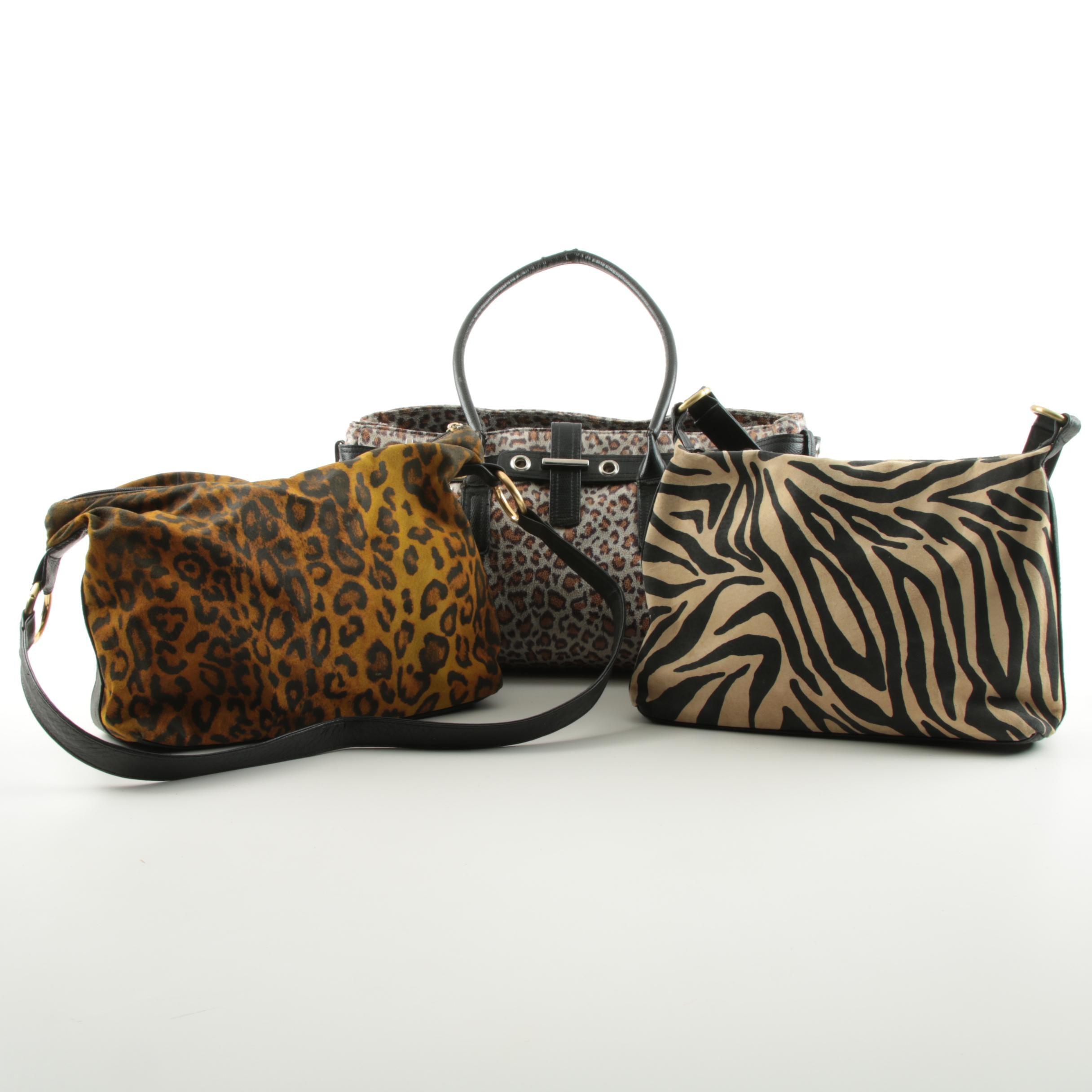 Animal Print Handbag Variety