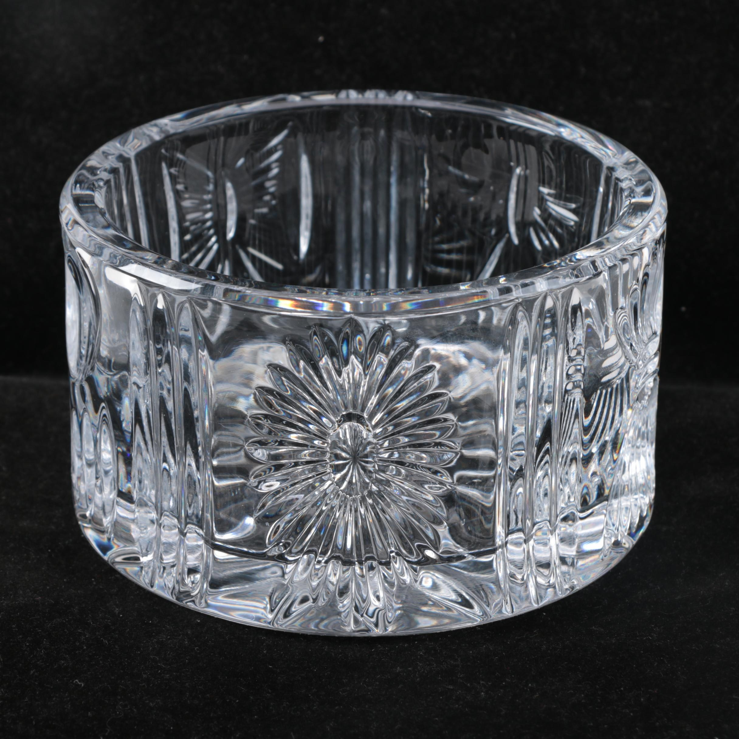 """Waterford Crystal """"The Millennium Collection"""" Wine Coaster"""