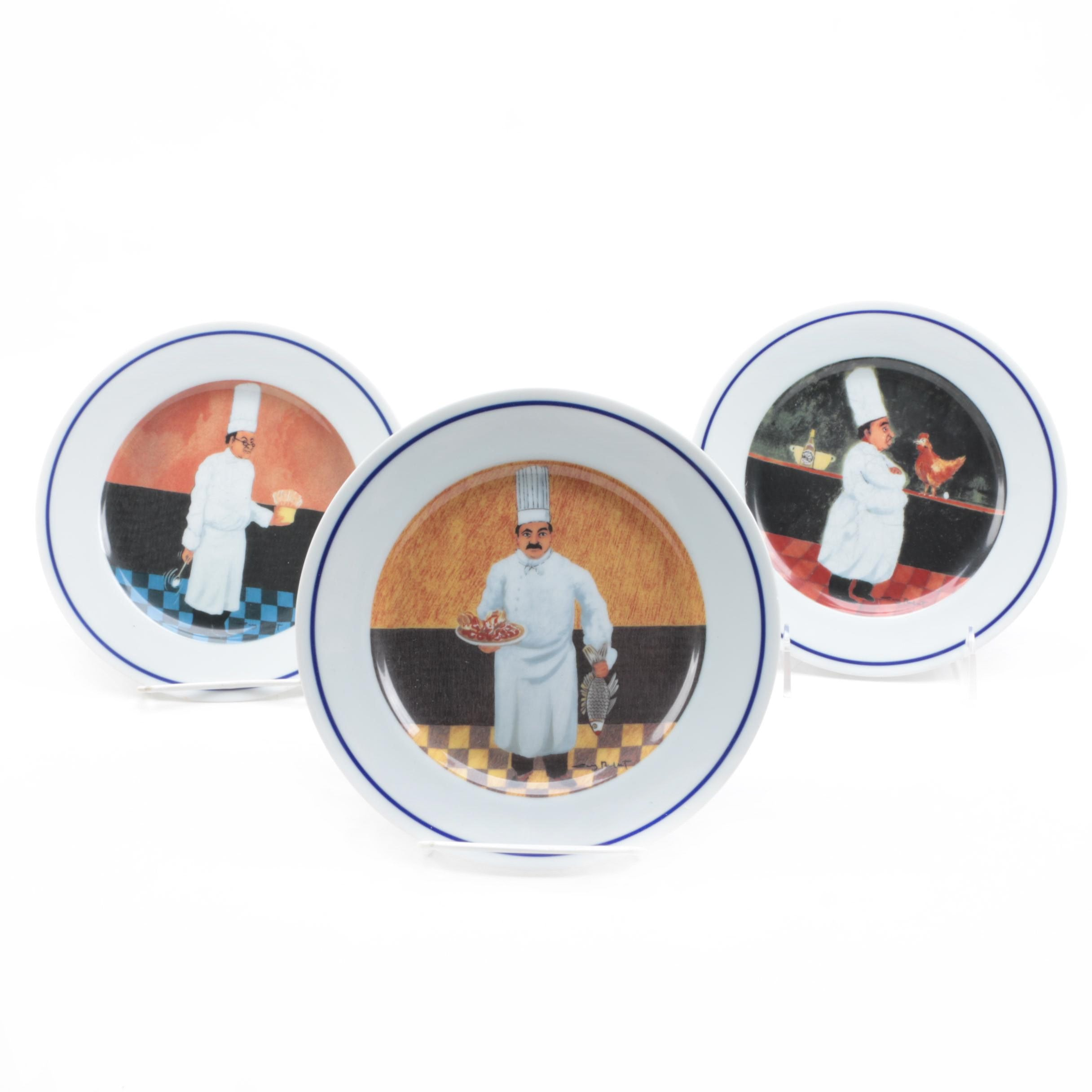 "Williams-Sonoma ""Guy Buffet Chef Series"" Plates"
