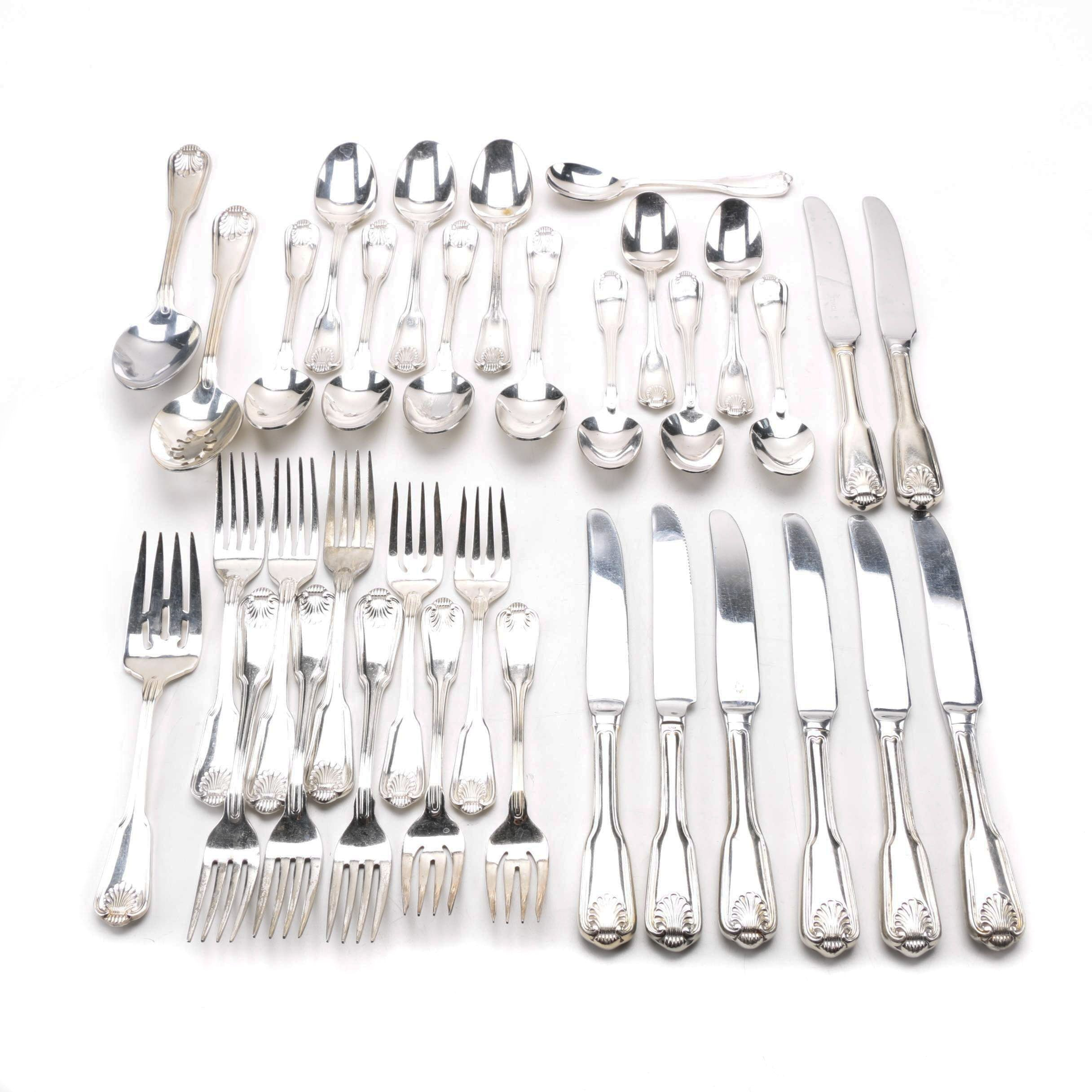 """Towle """"London Shell"""" Stainless Flatware"""