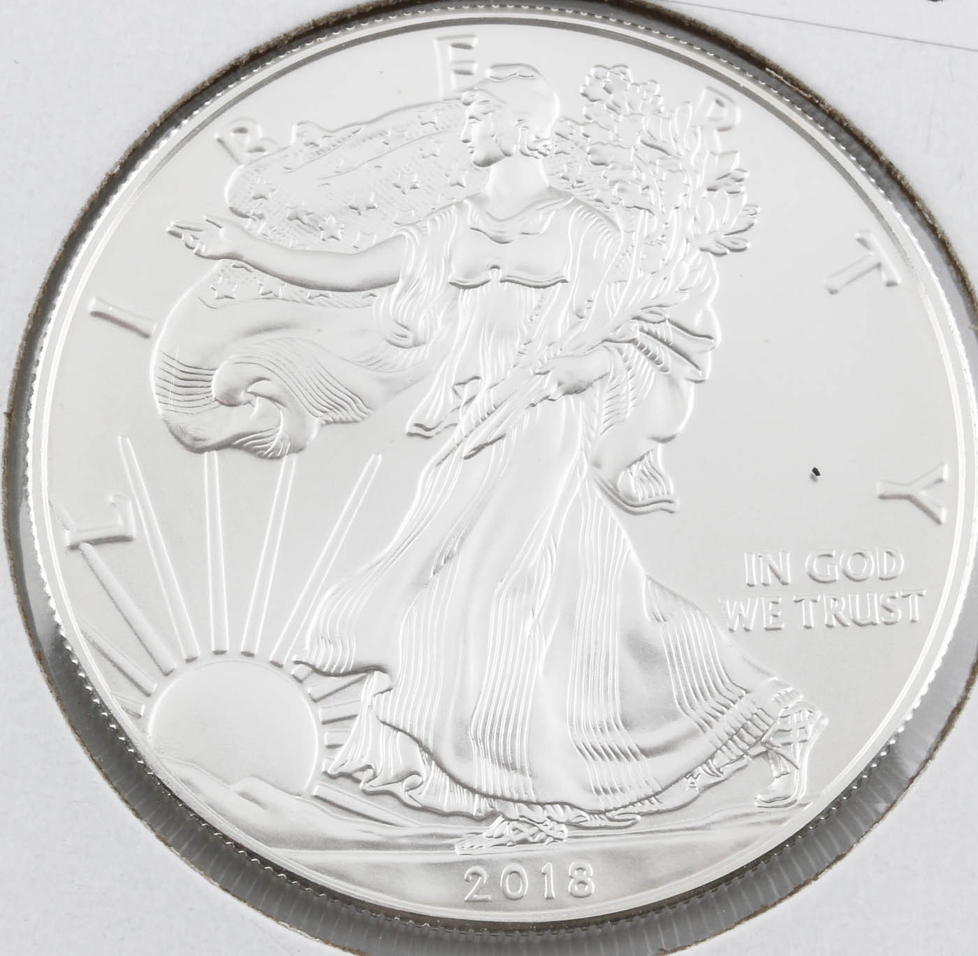 2018 Early Release One Dollar U.S. Silver Eagle