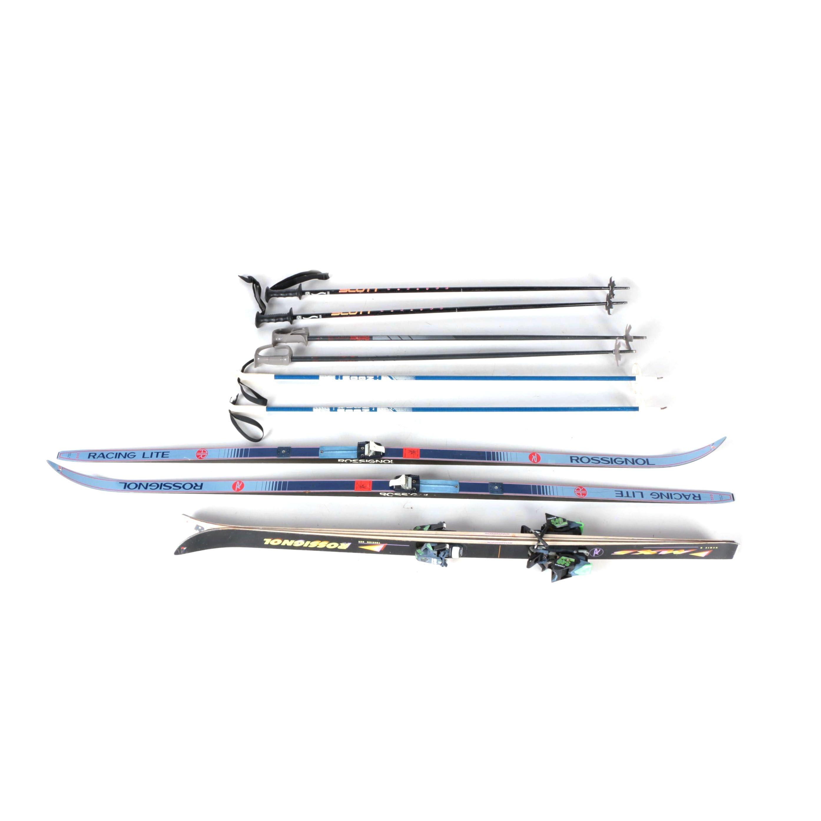 Skis and Six Poles