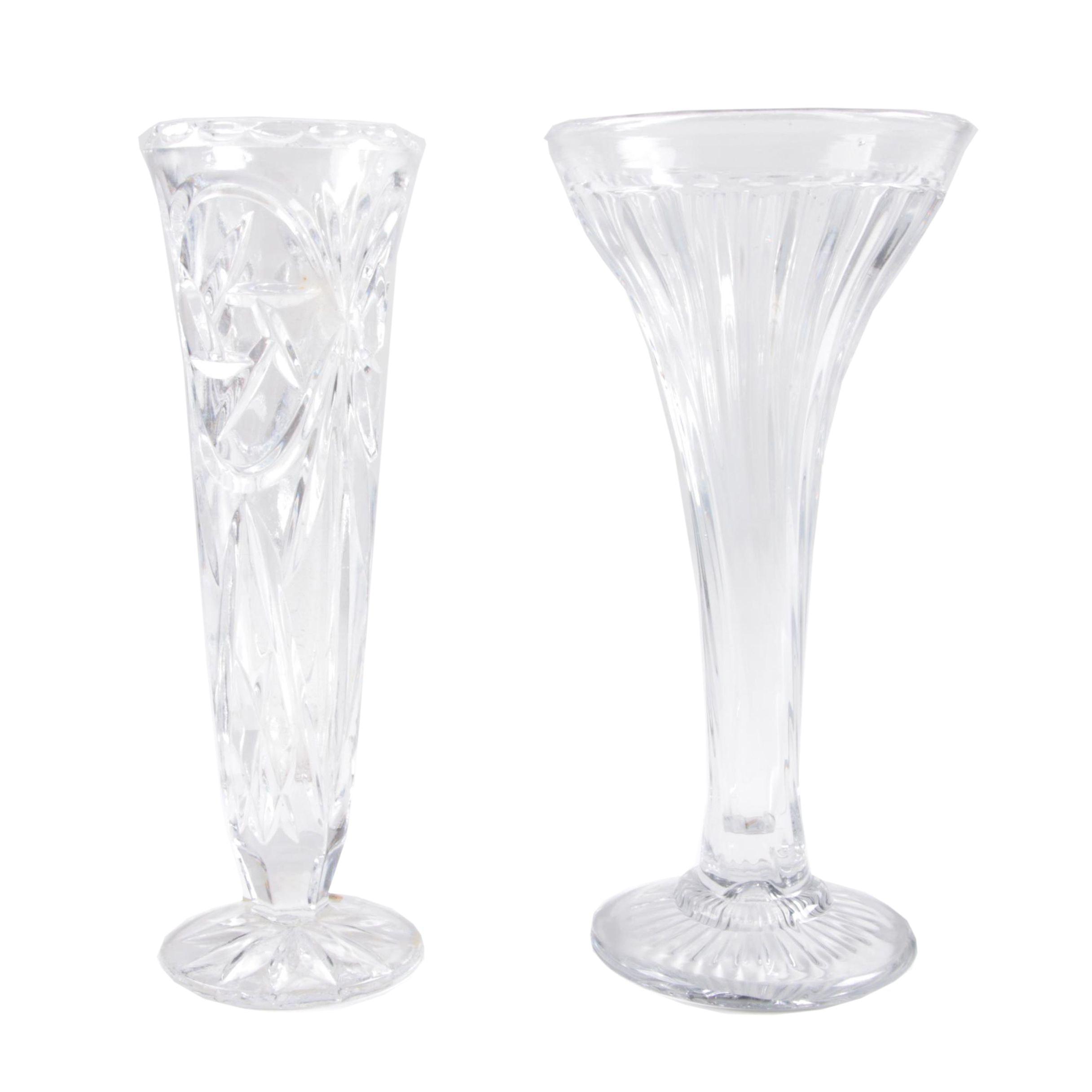 Crystal Vases Featuring Bleikristall