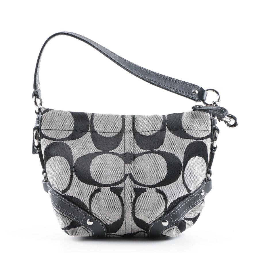 b5a8ef5c629f Coach Carly Signature Canvas Handbag   EBTH
