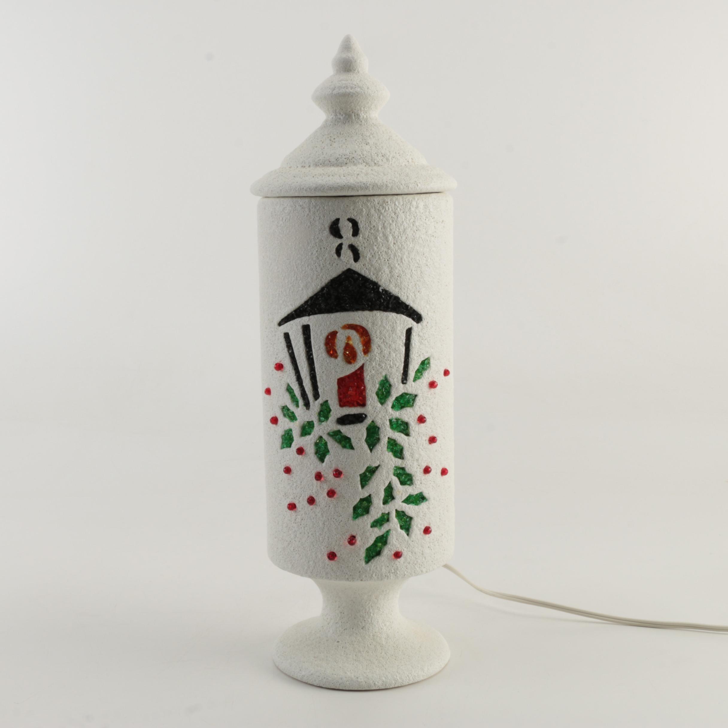 Vintage Ceramic Christmas Light