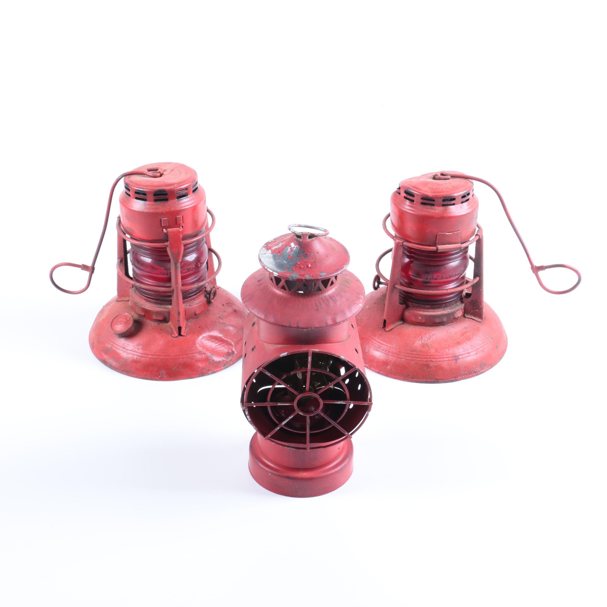 Dietz Railroad Lanterns and Signal Lantern