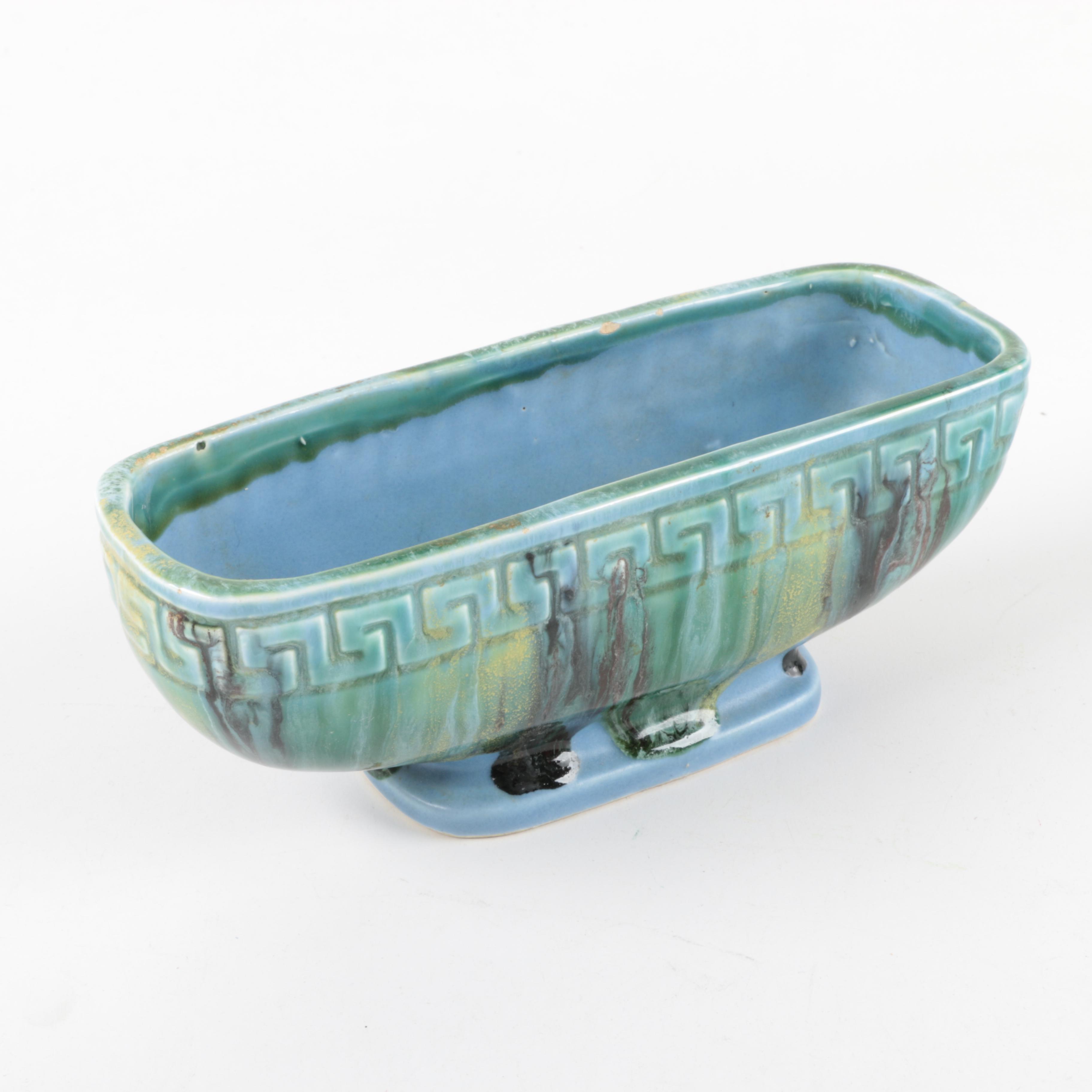 Vintage Ceramic Box Planter