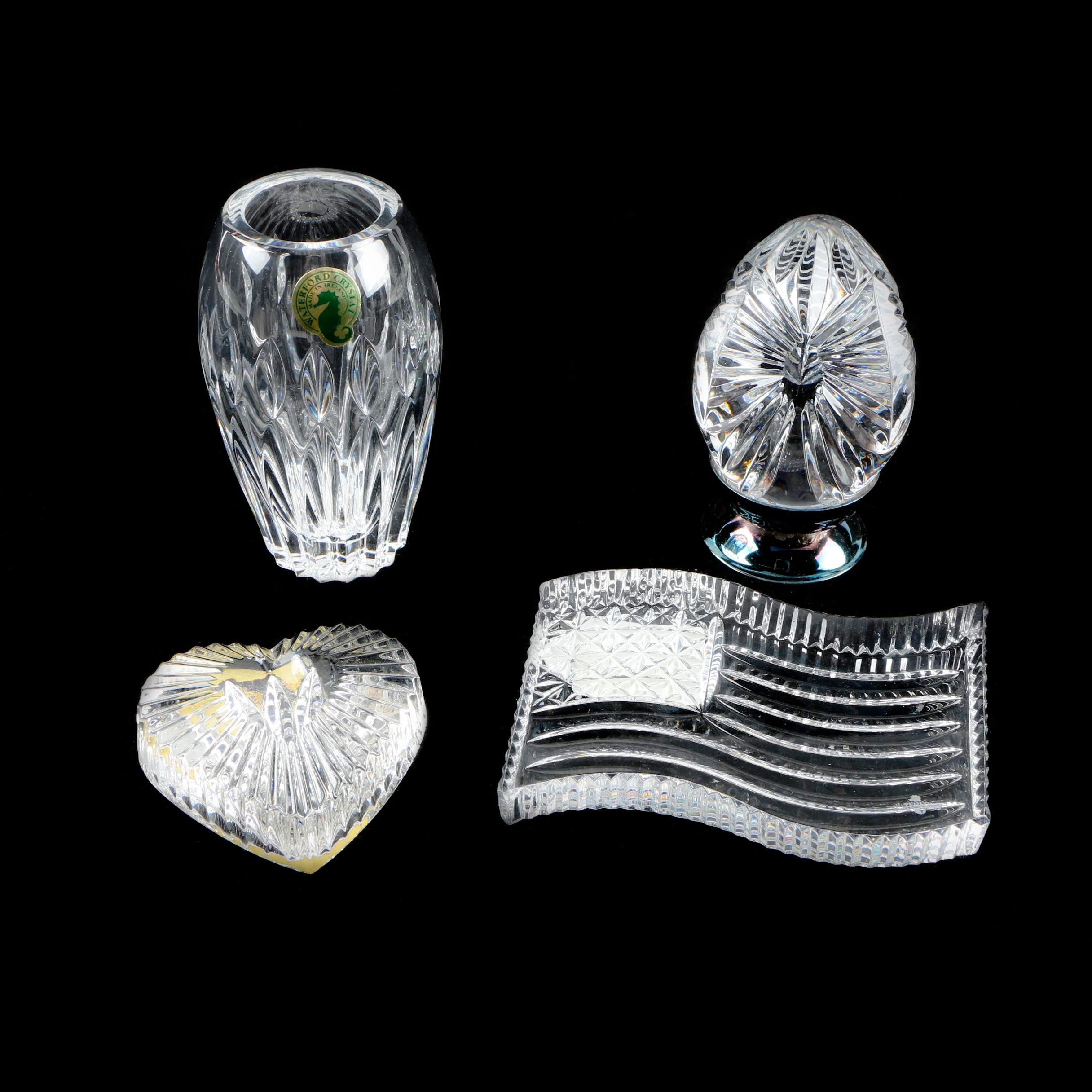 Waterford Crystal Bud Vase and Decor
