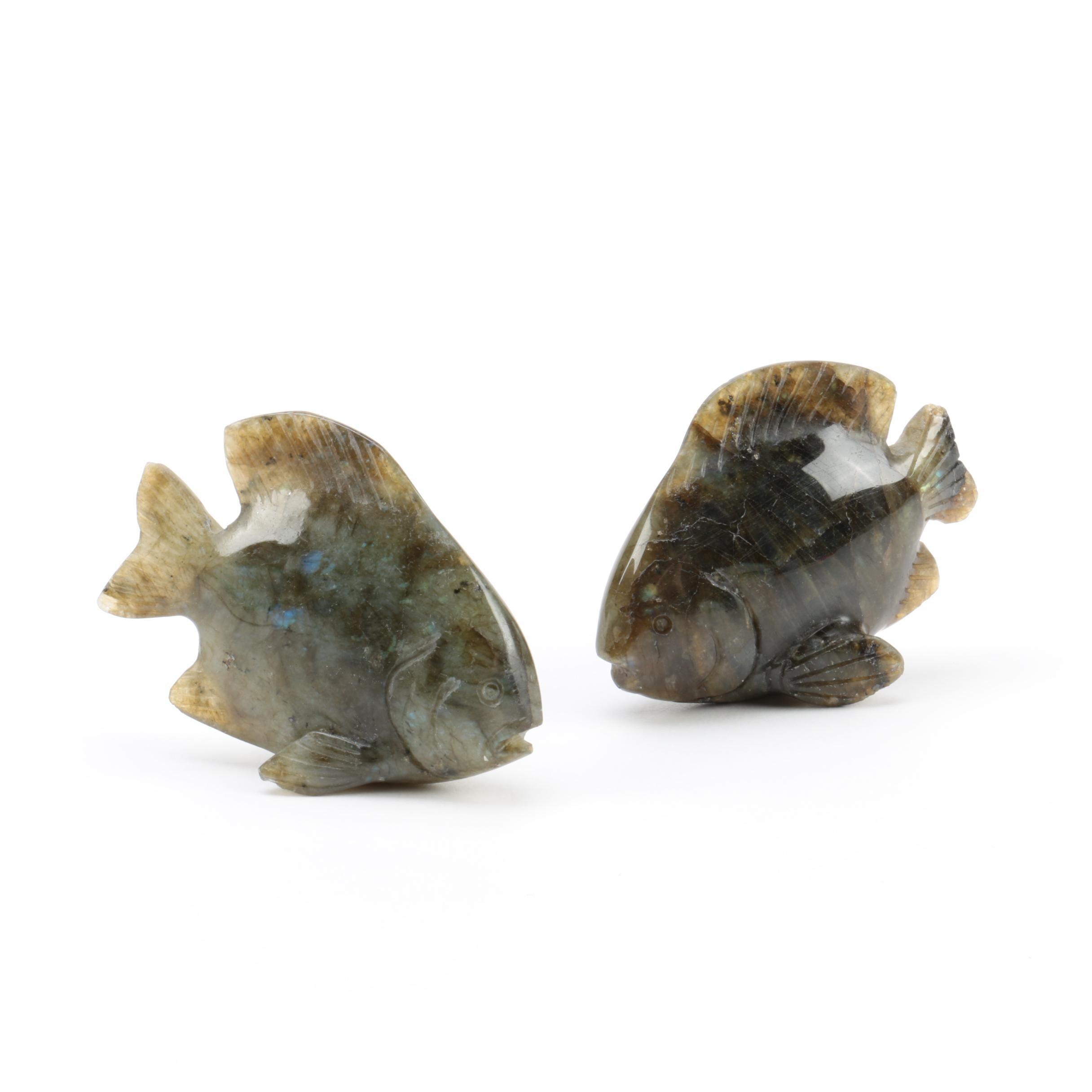 Labradorite Fish Figurines