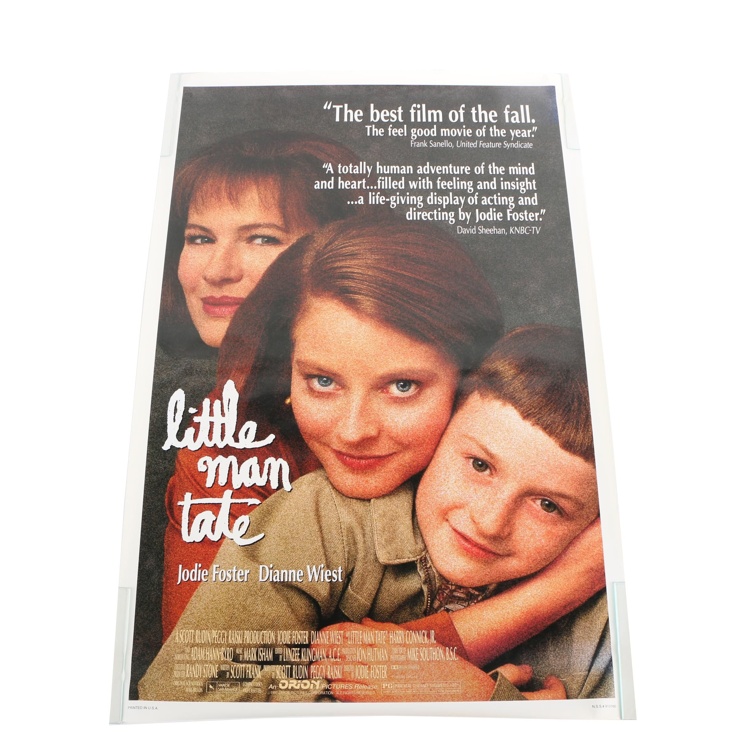 "Offset Lithograph Poster for ""Little Man Tate"""