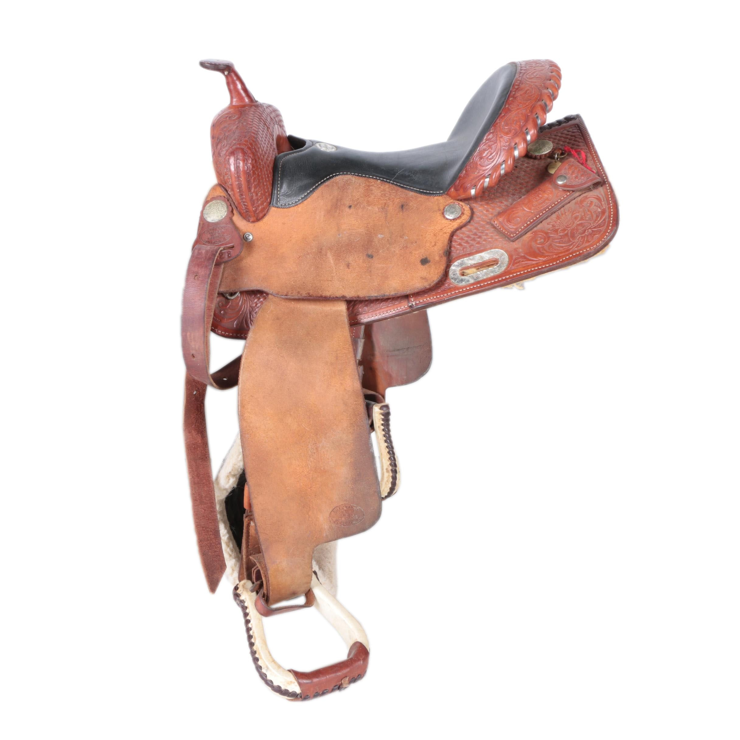 Billy Cook Barrel Racing Saddle