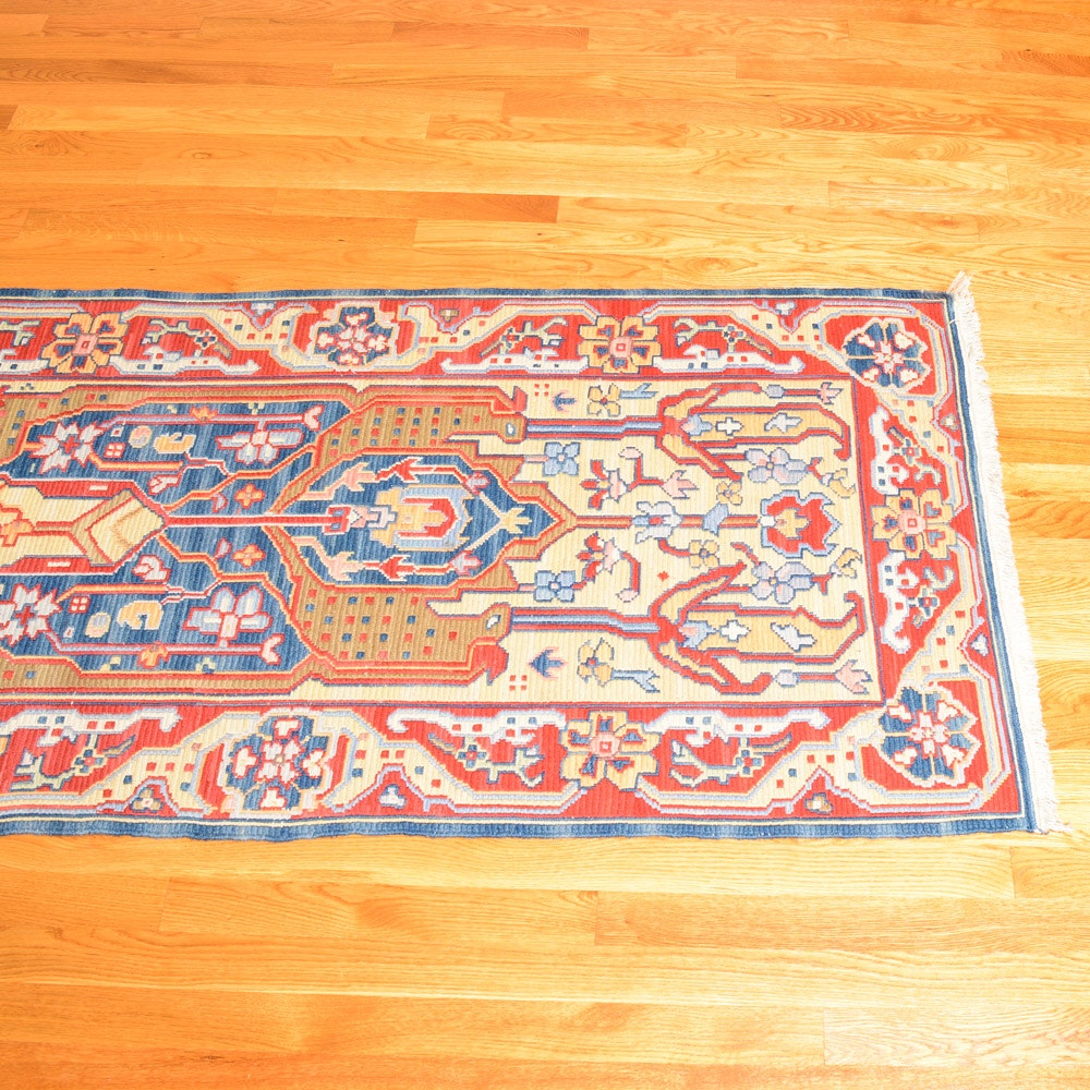 Handwoven Nourmak Accent Runner
