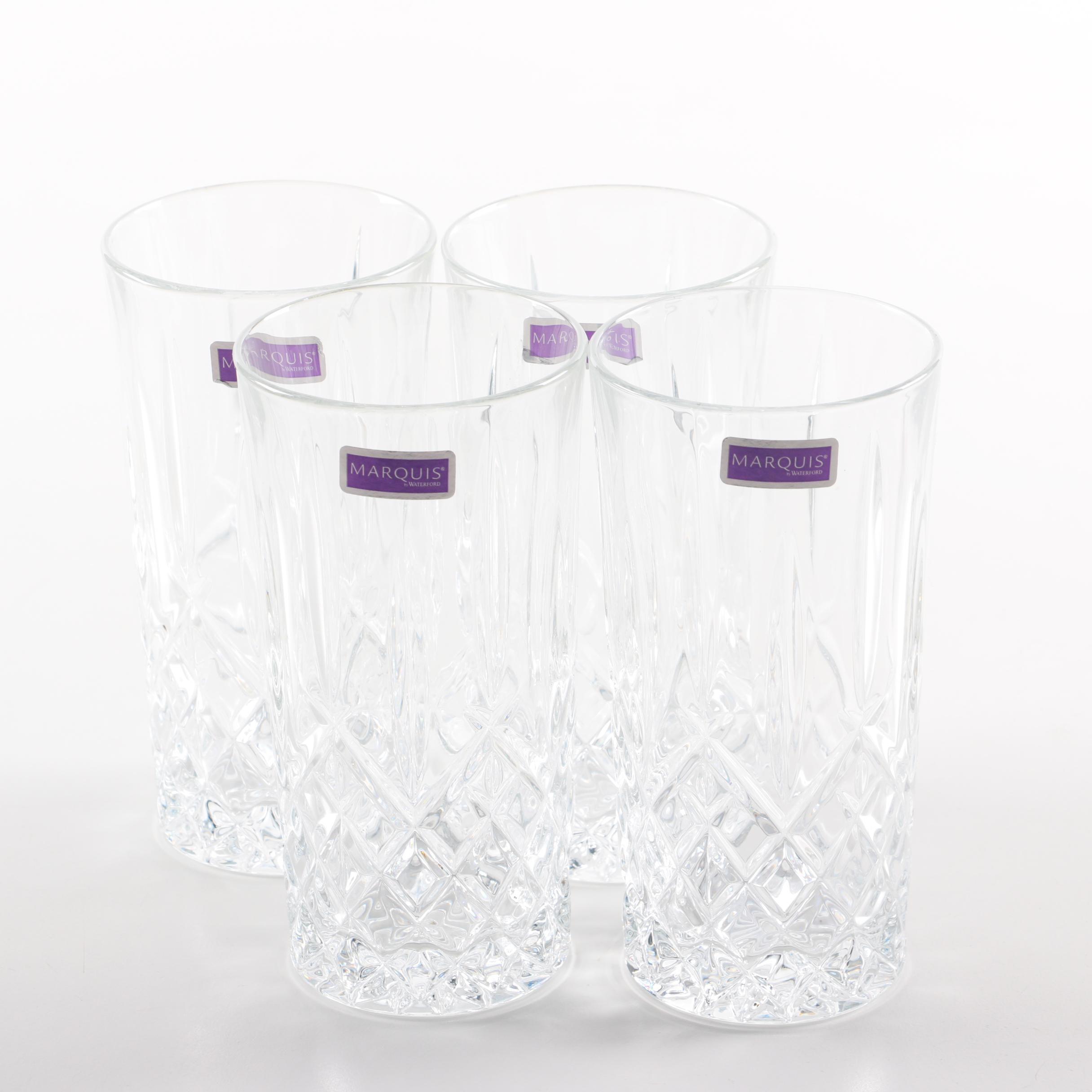 "Marquis by Waterford Crystal ""Markham"" Highball Glasses"