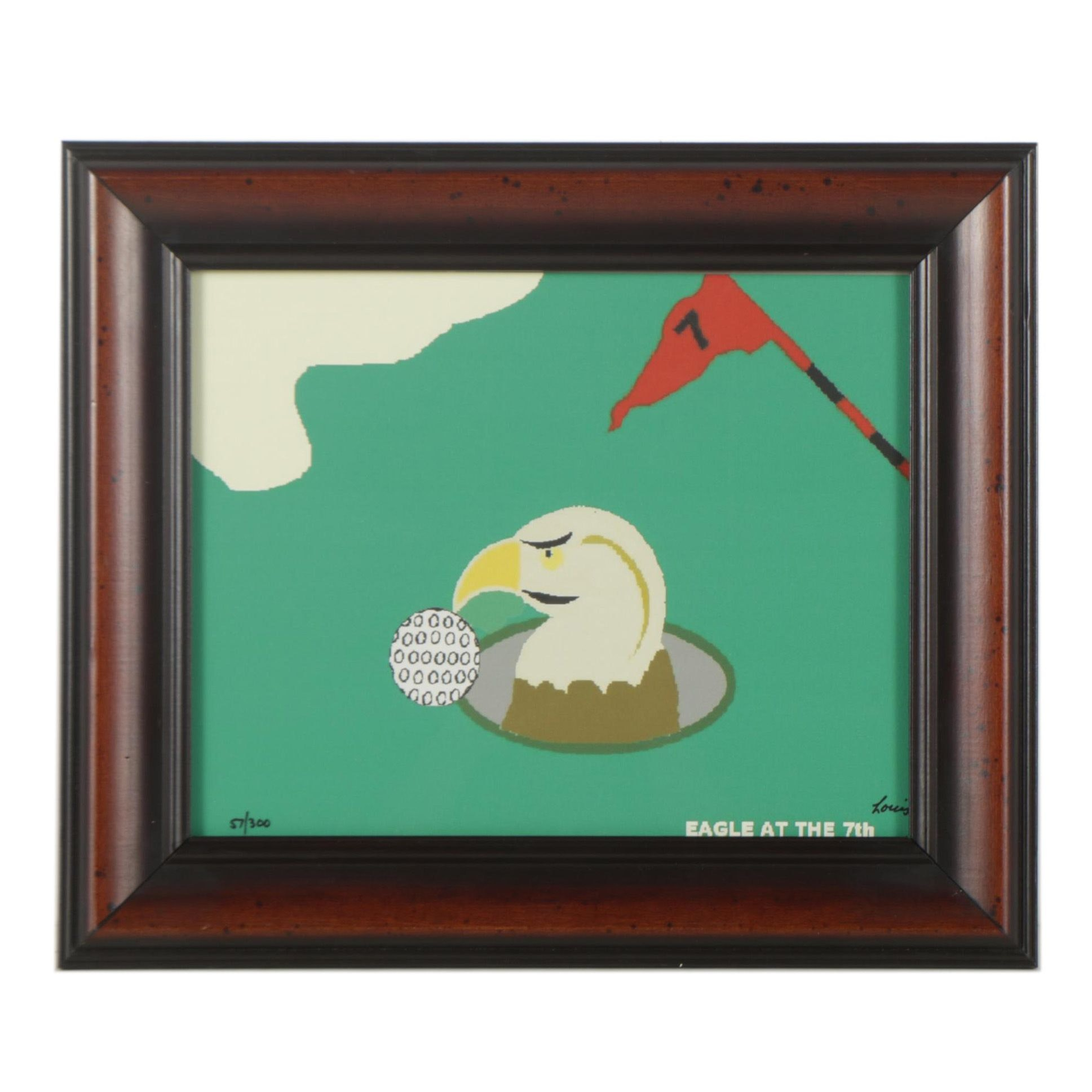 """Louis """"Eagle at the 7th"""" Giclee Print"""