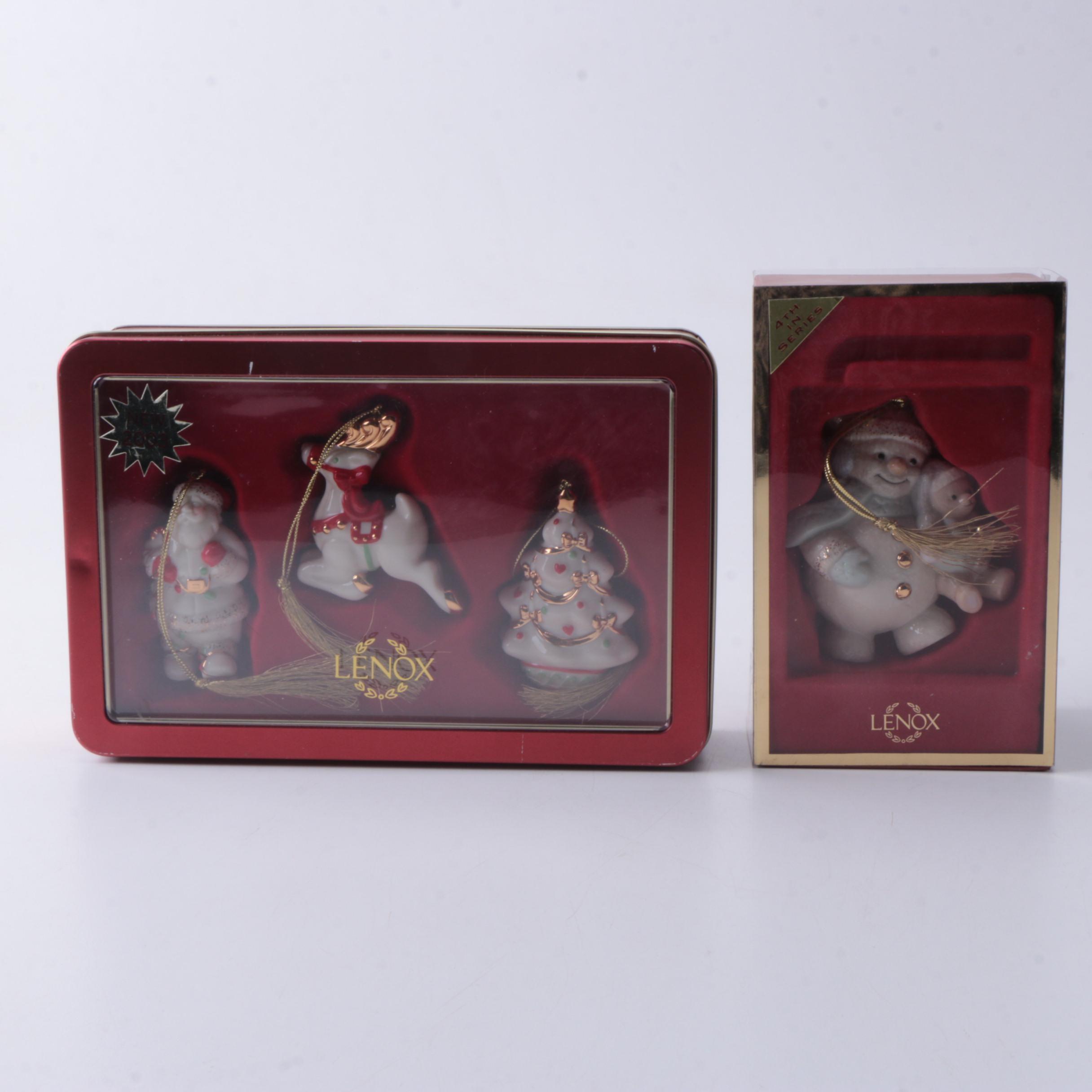 Lenox Porcelain Ornaments