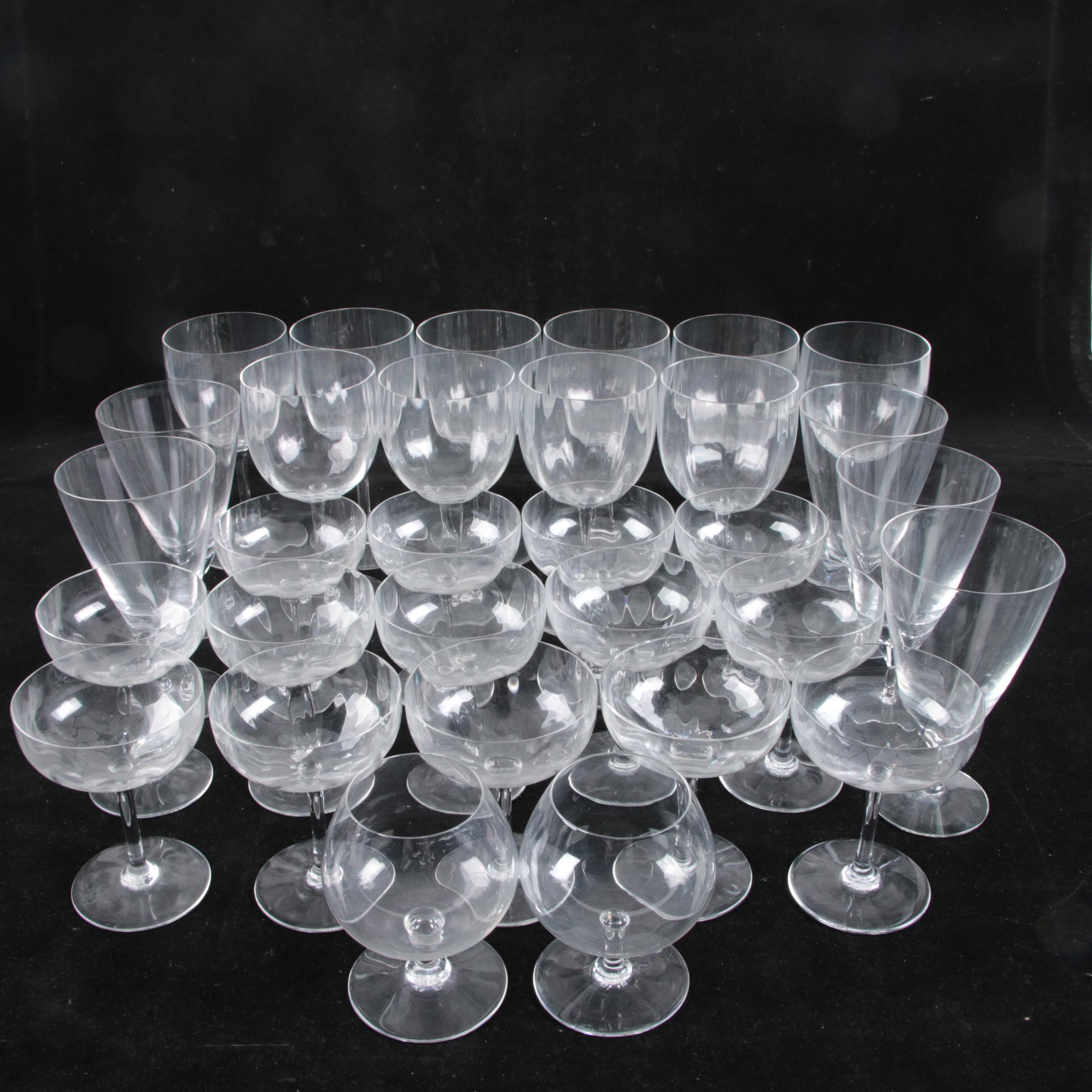 Collection of Baccarat Glass Stemware