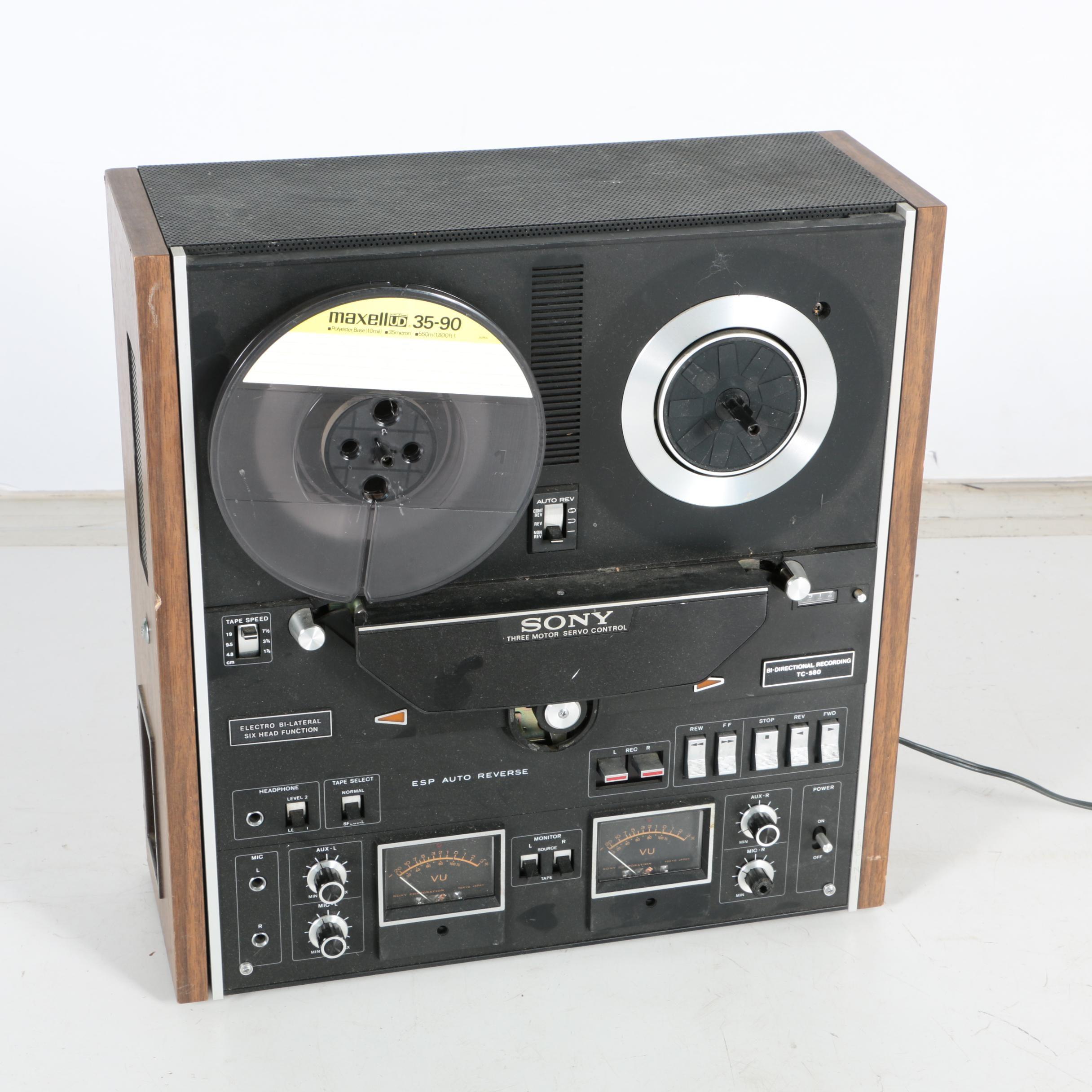 Sony Reel-to-Reel Tape Recorder