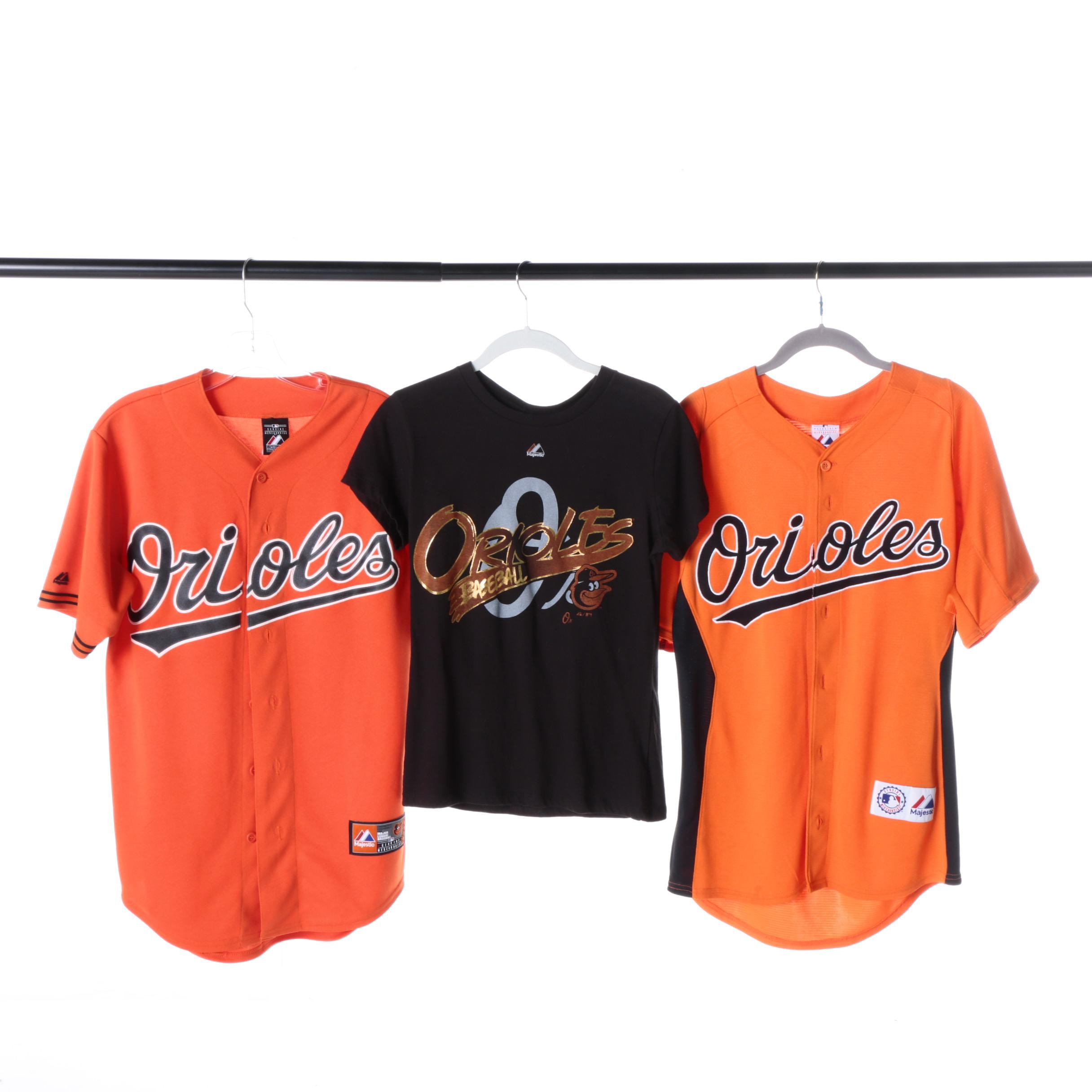 Majestic Women's Baltimore Orioles Shirts