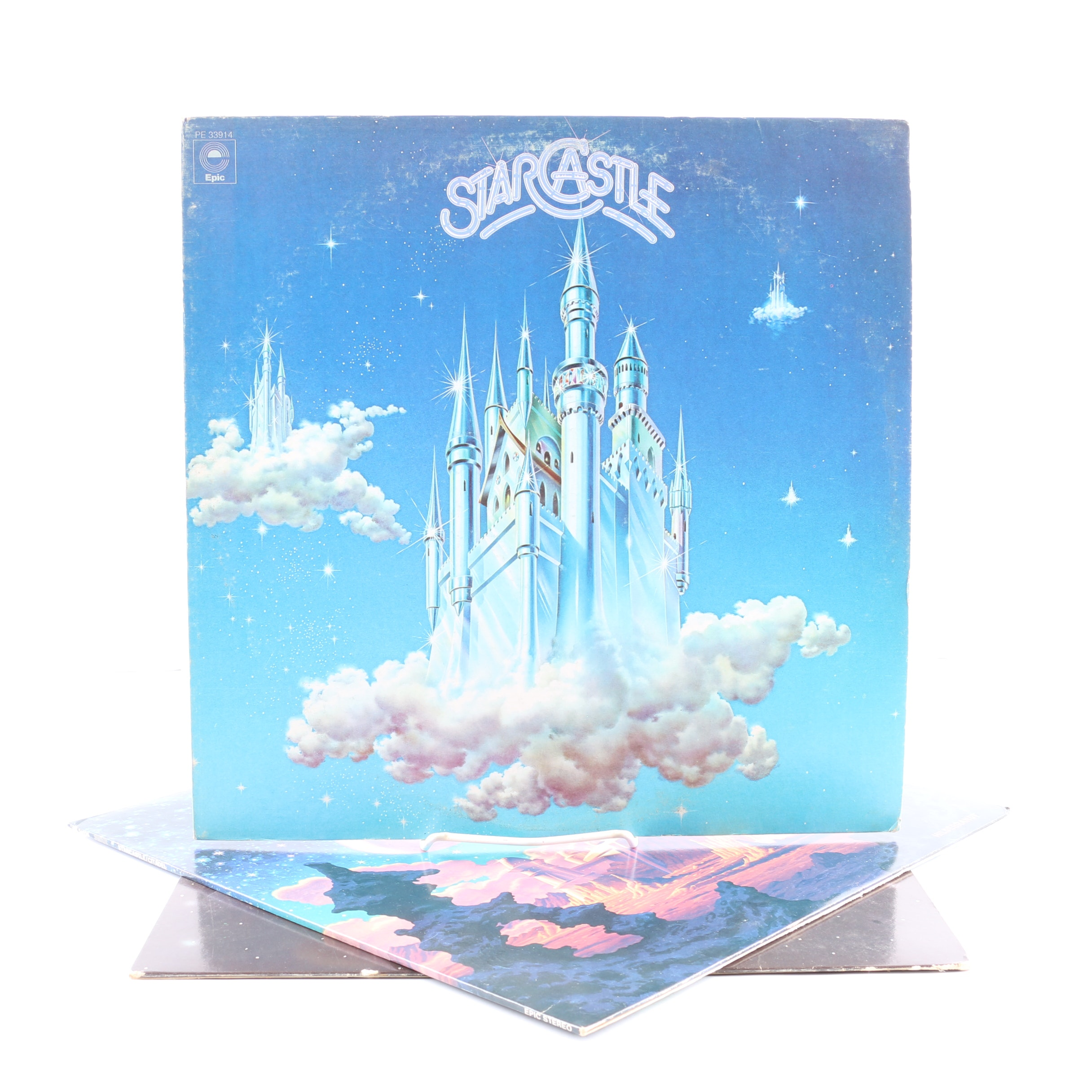 """Starcastle LPs Including """"Citadel"""" and """"Fountains Of Light"""""""