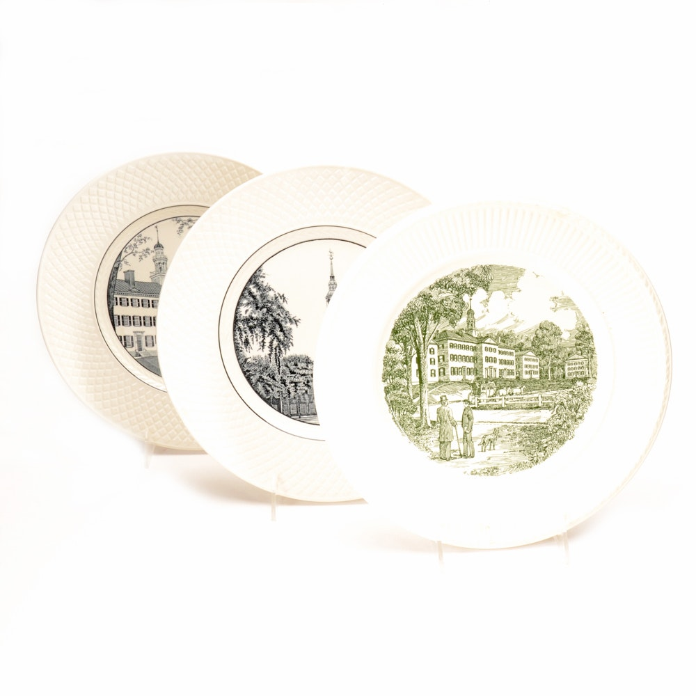 Collection of Dartmouth Commemorative Plates