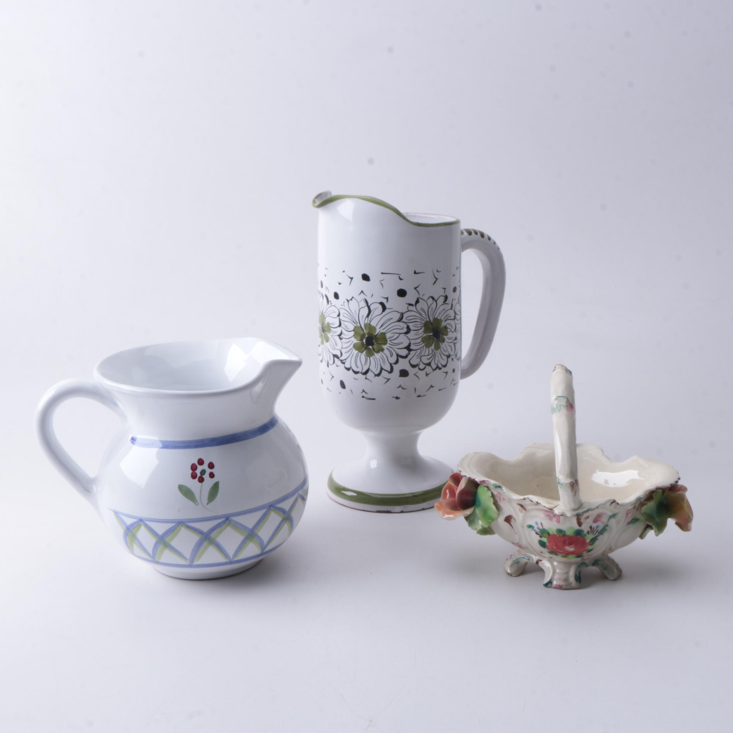 Italian Porcelain Tableware and Dishes