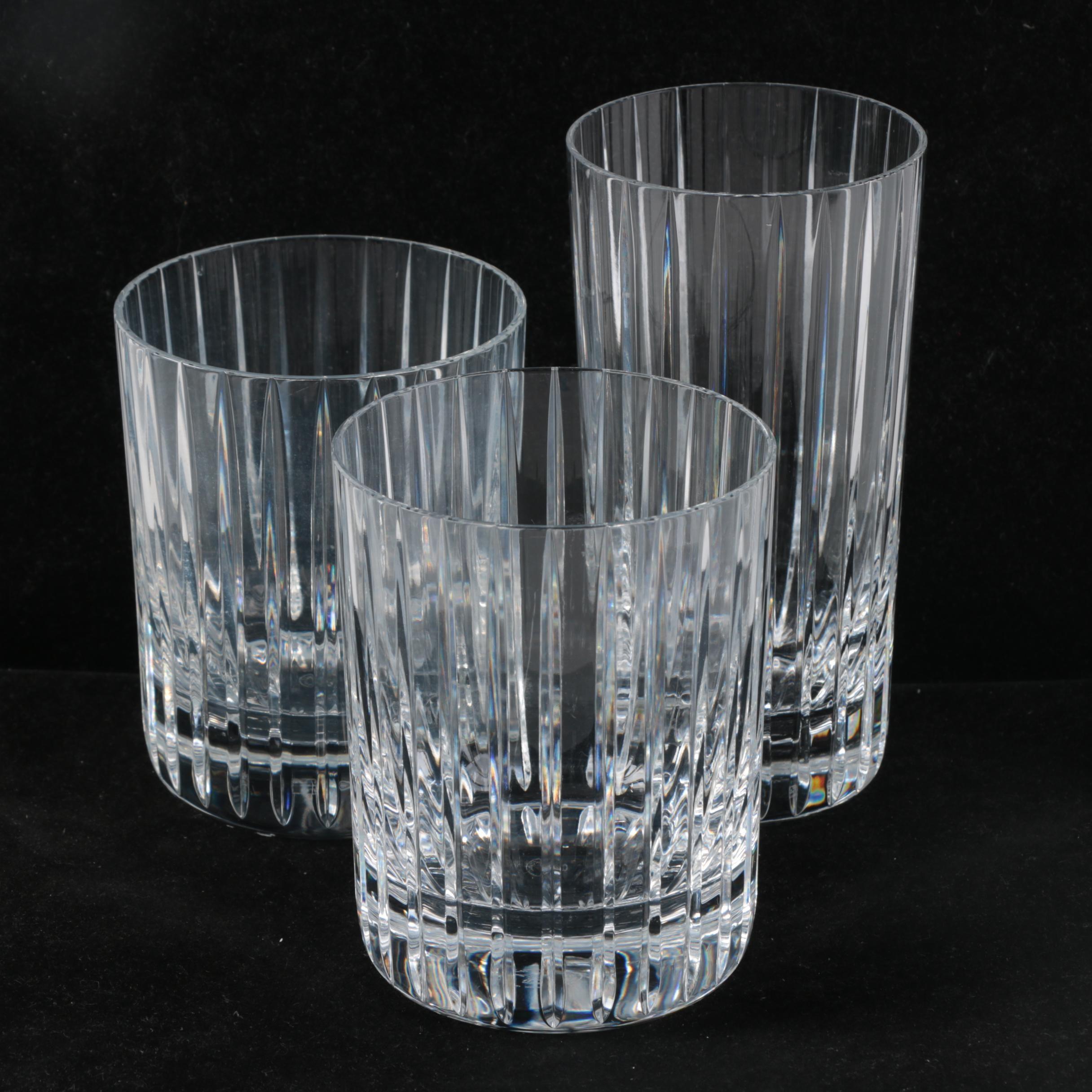 "Baccarat ""Harmonie"" Glassware"