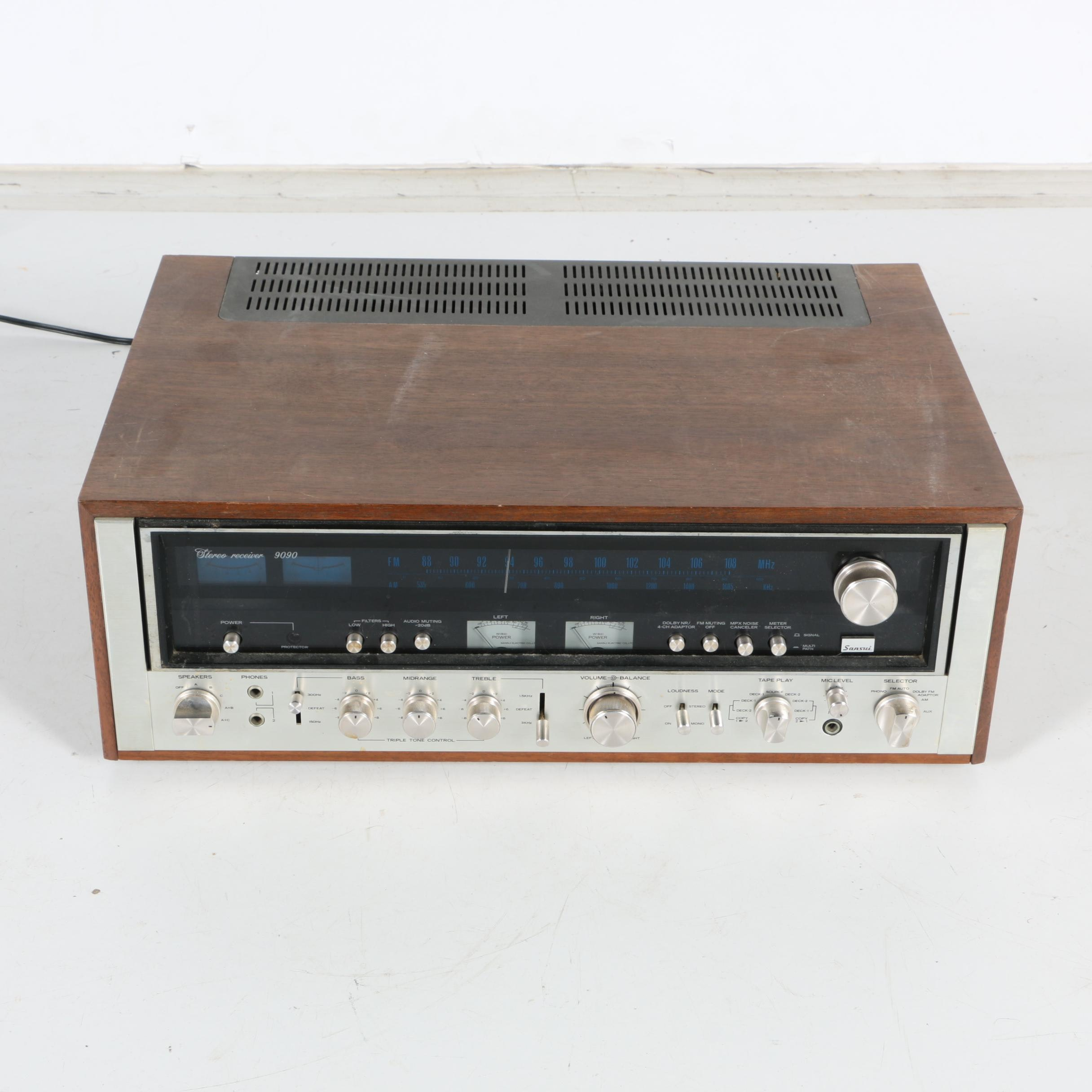 Vintage Sansui Stereo Receiver
