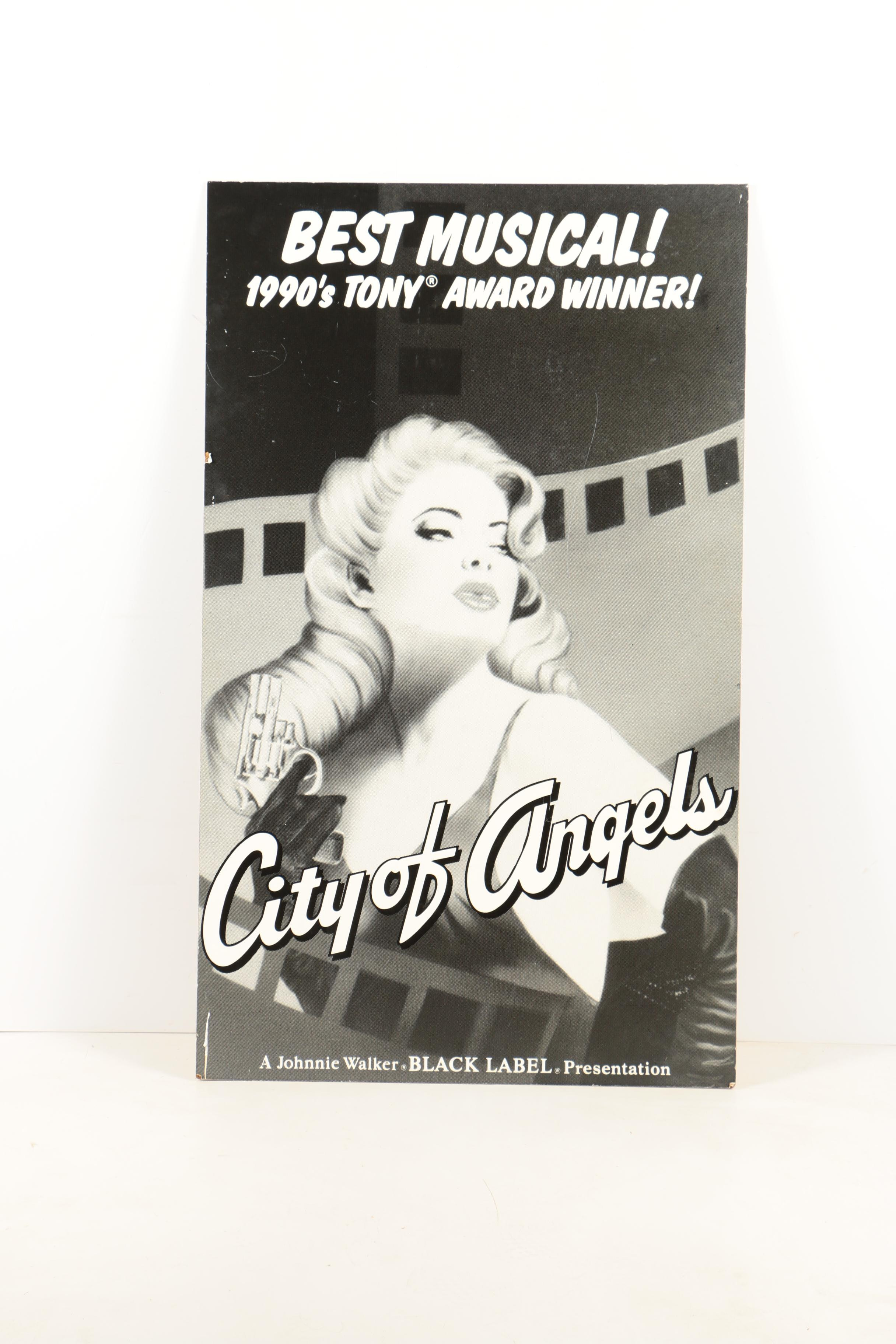 "Giclée Poster ""City of Angels"""