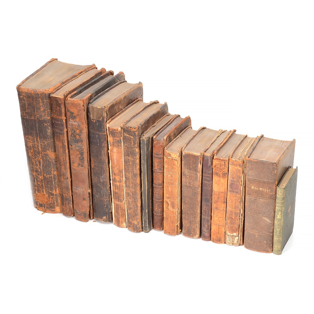 Early 19th Century Books