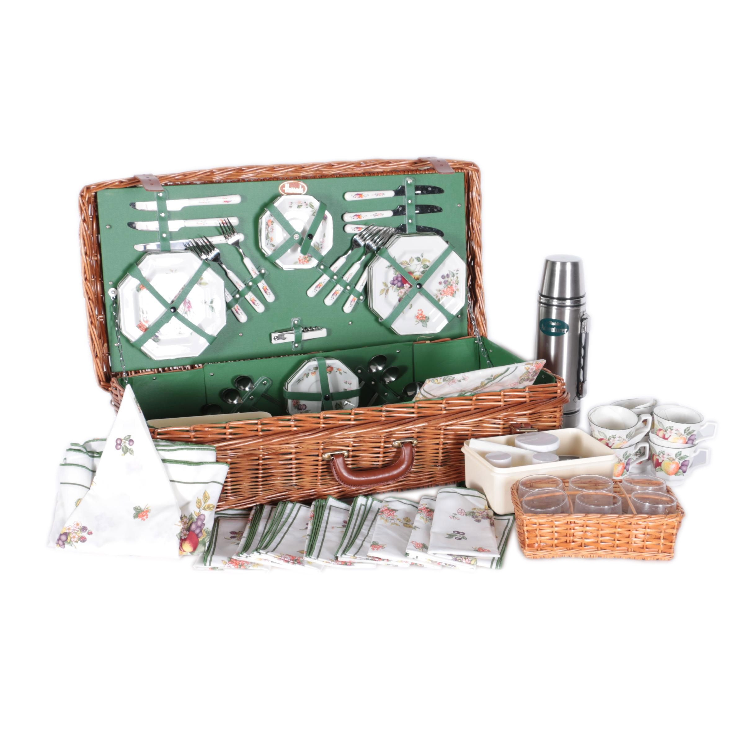 Six-Person Picnic Basket From Harrods