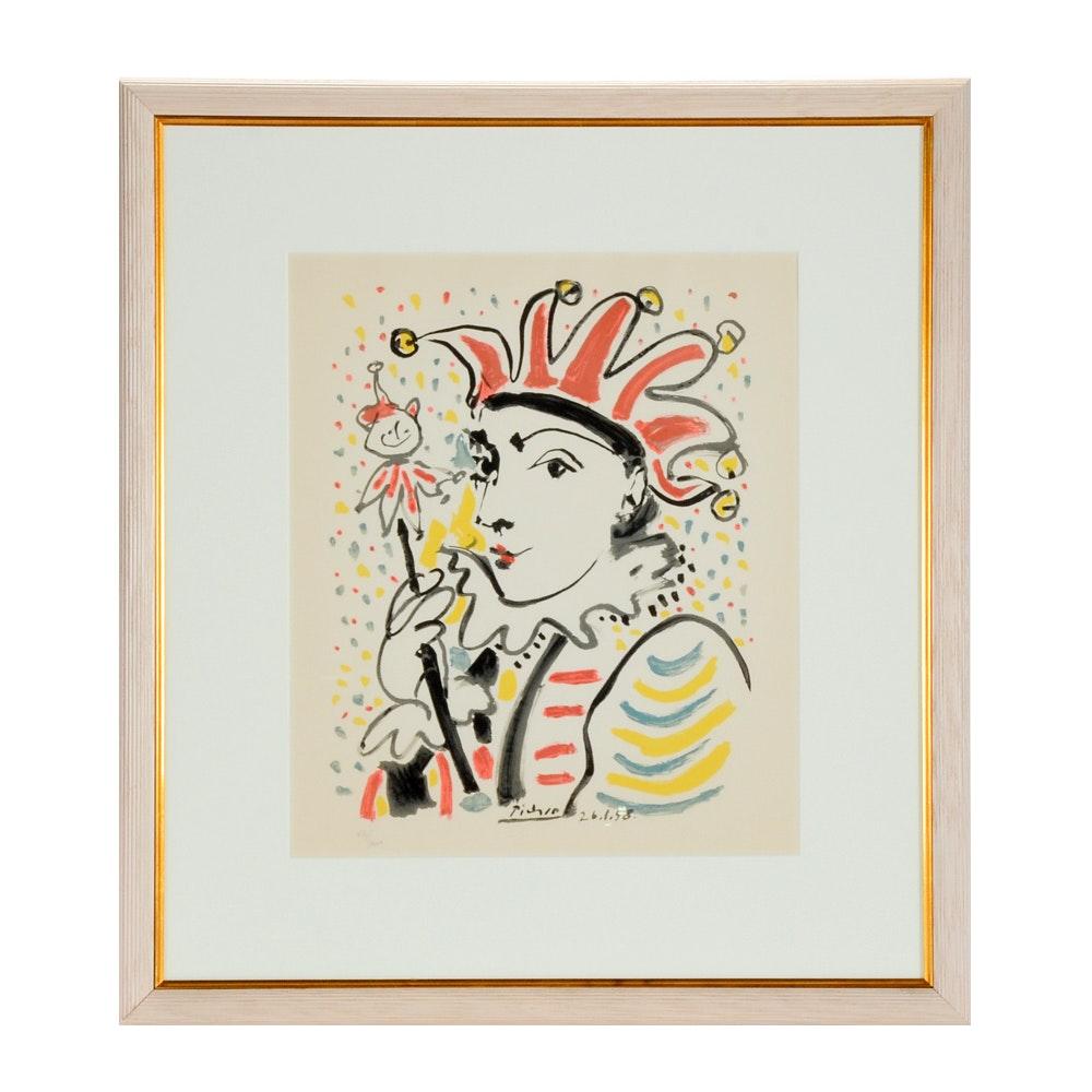 "Limited Edition Lithographic Print After Pablo Picasso ""La Folie"""