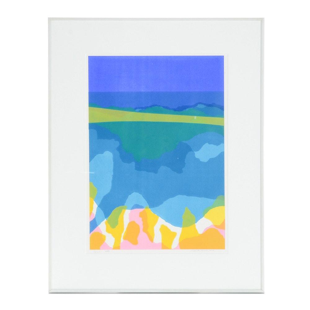 "Alexander Russo Lithographic Print ""Vista"""