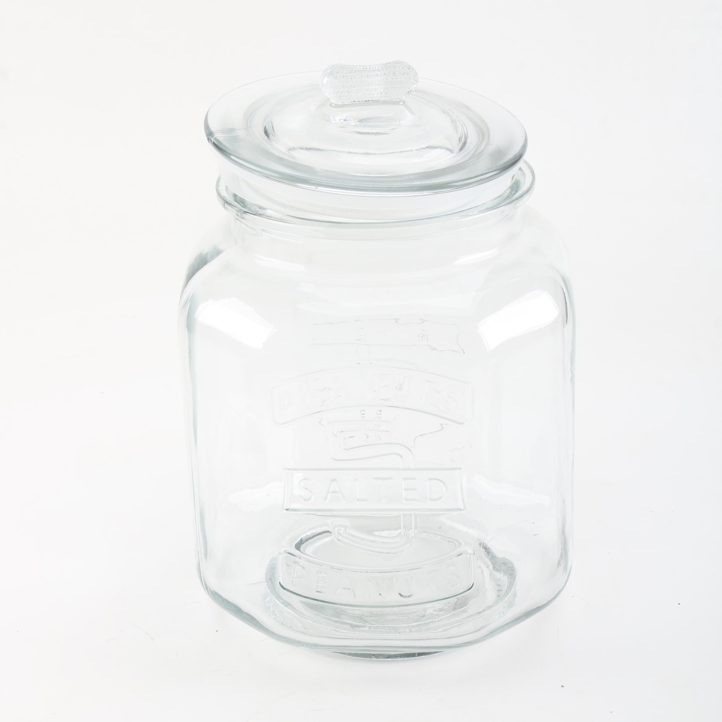 Peanut Glass Canister