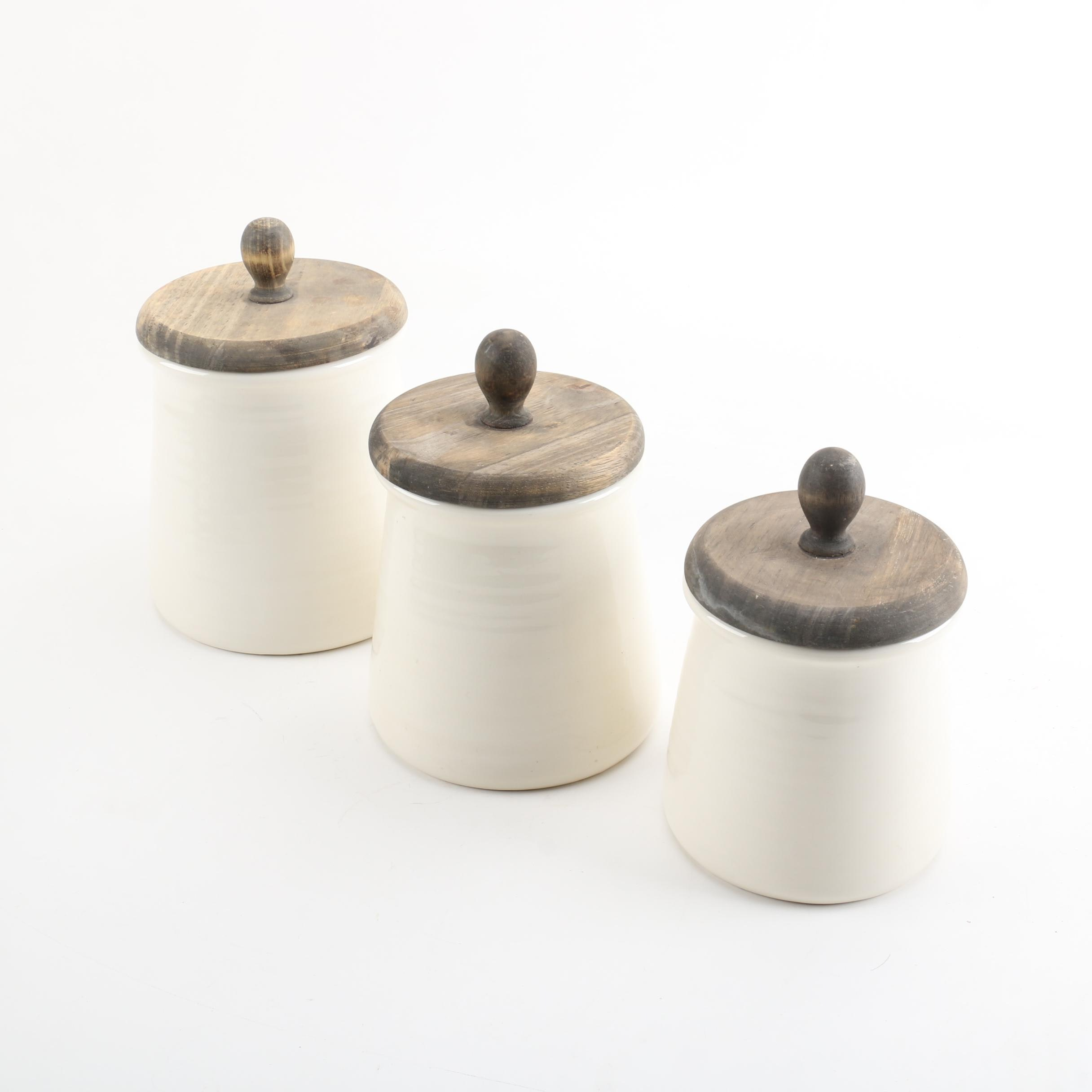 Katie Brown Ceramic Canisters