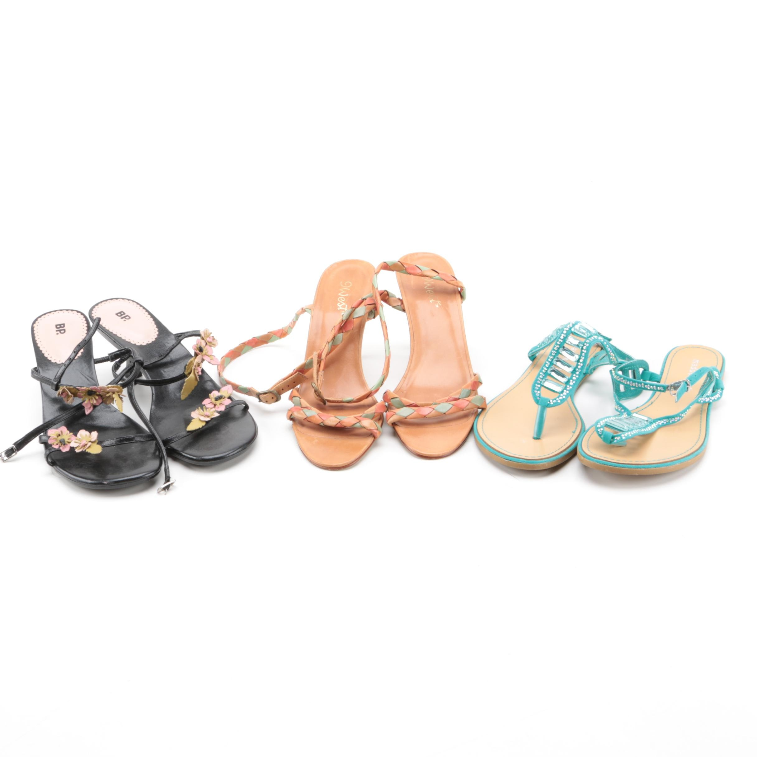 Women's Shoes Including Madden Girl and 9 West