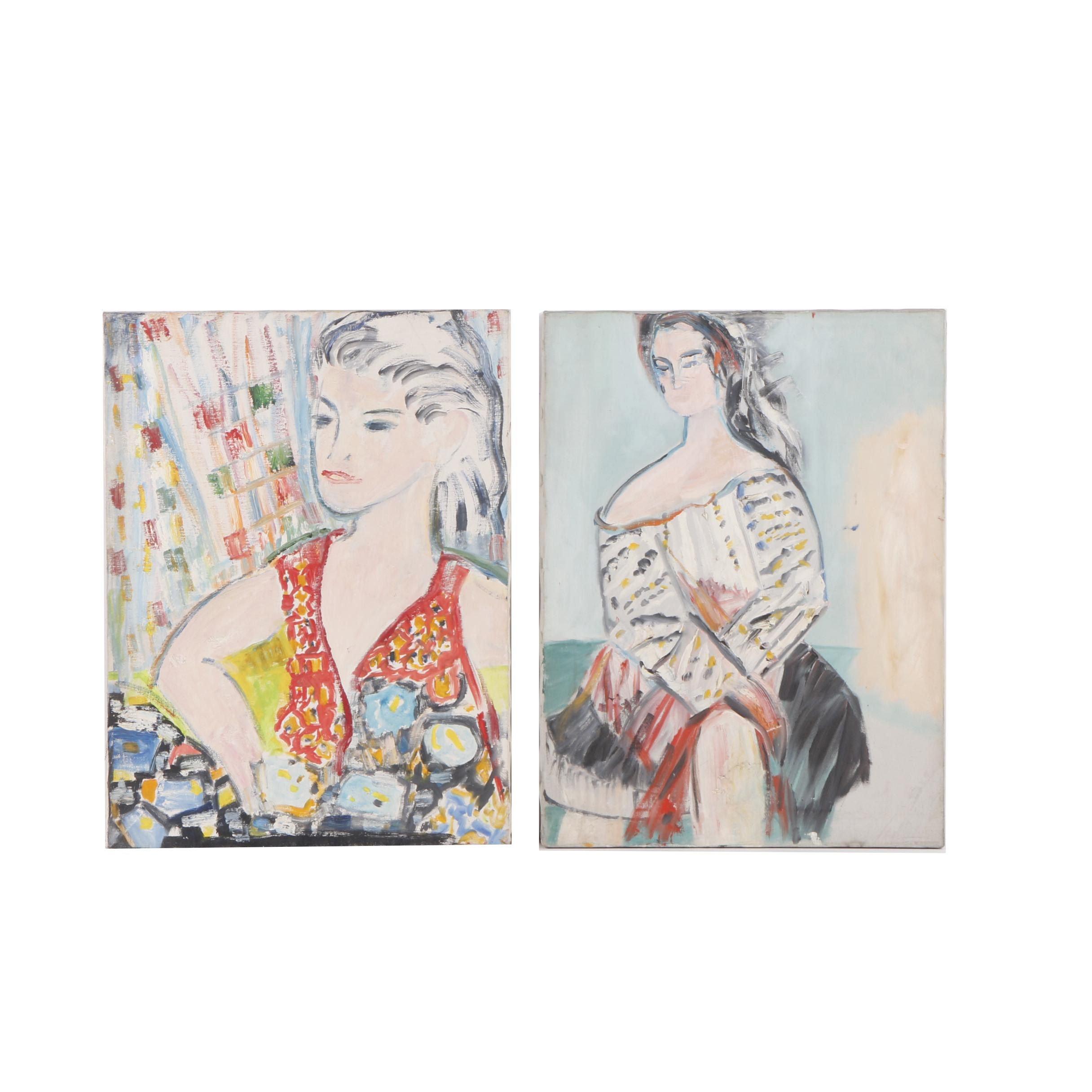Oil Paintings of Women