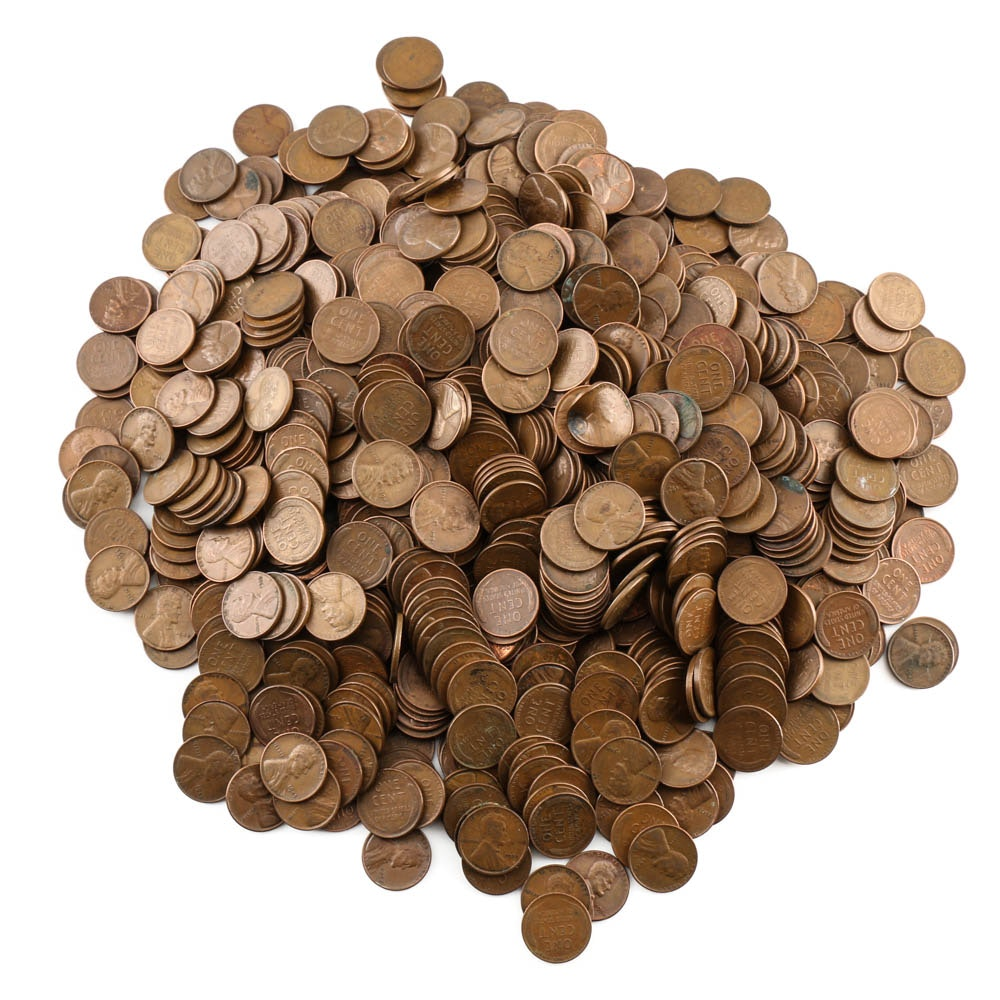 900 Lincoln Wheat Cents