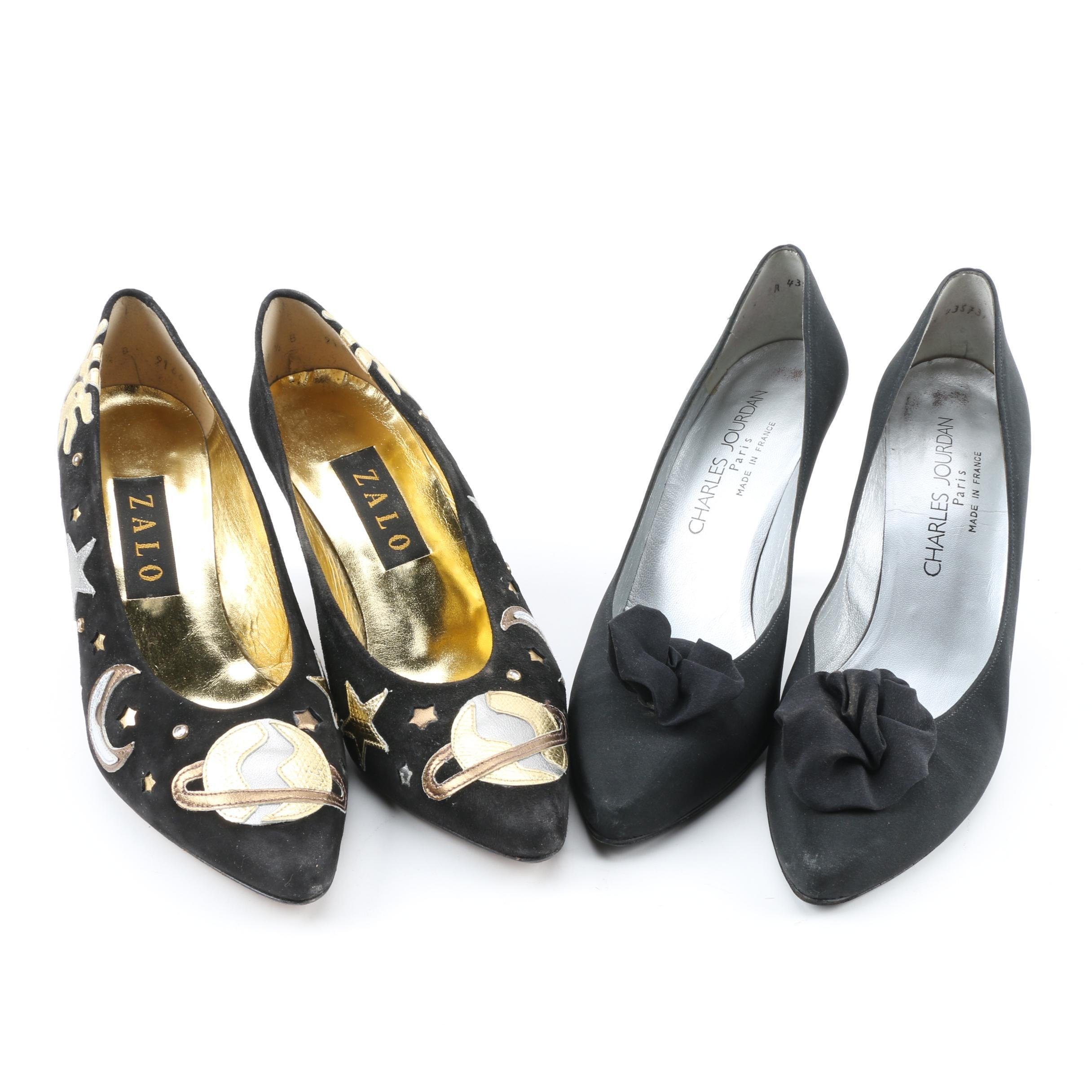 Women's Vintage High Heels Including Charles Jourdan Paris