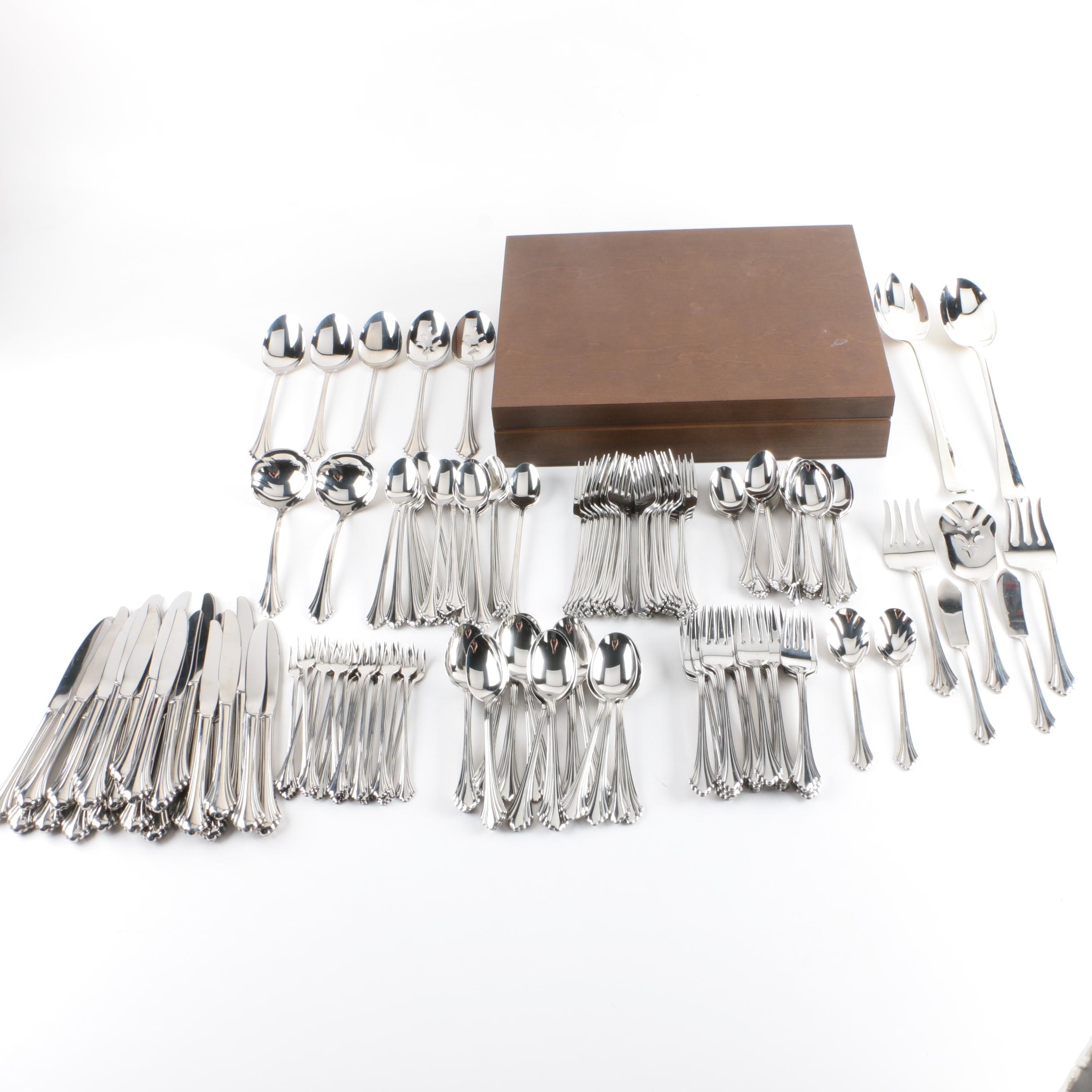 Collection of Oneida Stainless Steel Flatware