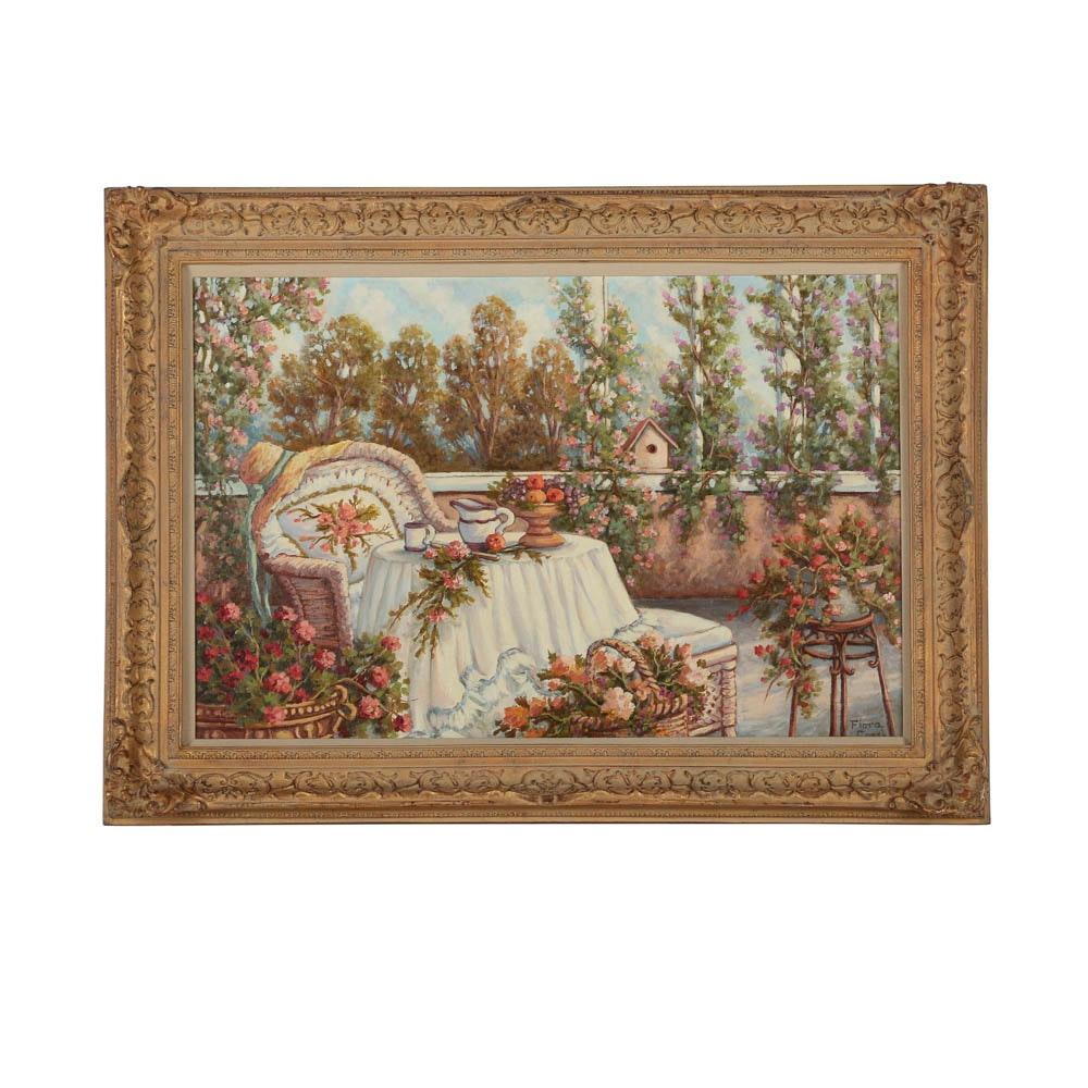 Fiora Cozzi Oil Painting on Canvas