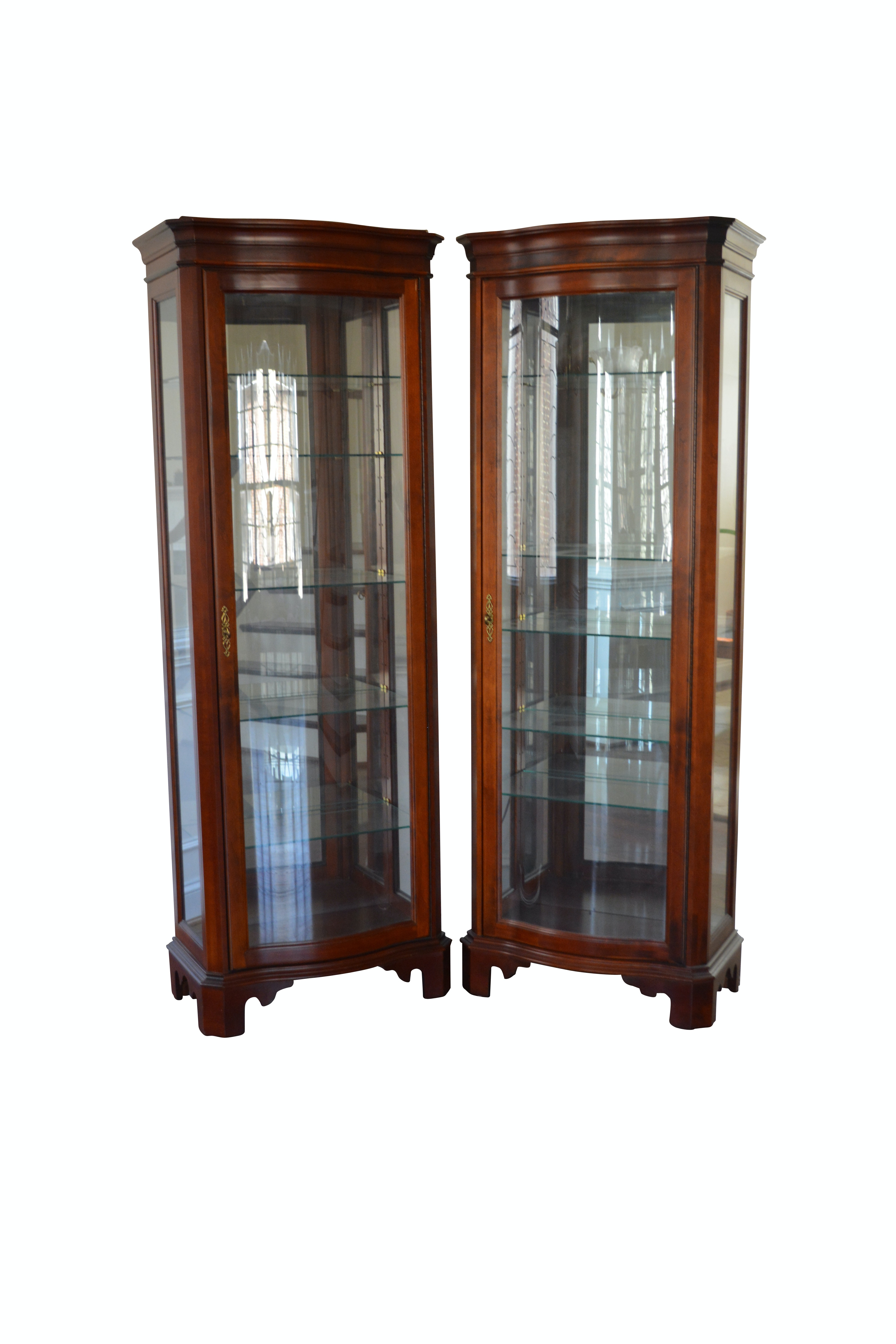 Curio Cabinets by Jasper Cabinets